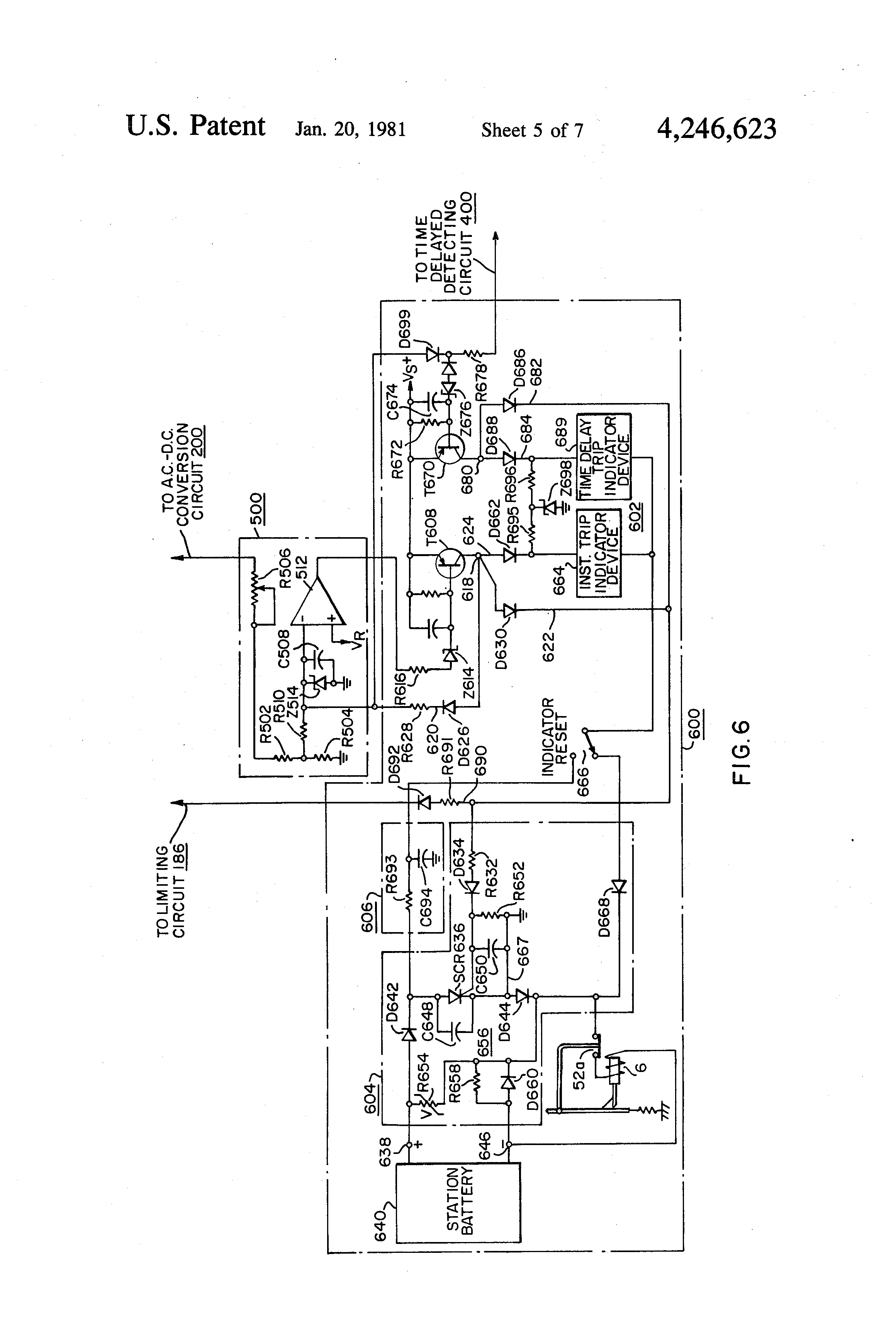 Patent US Protective Relay Device Google Patents - Static relay working principle