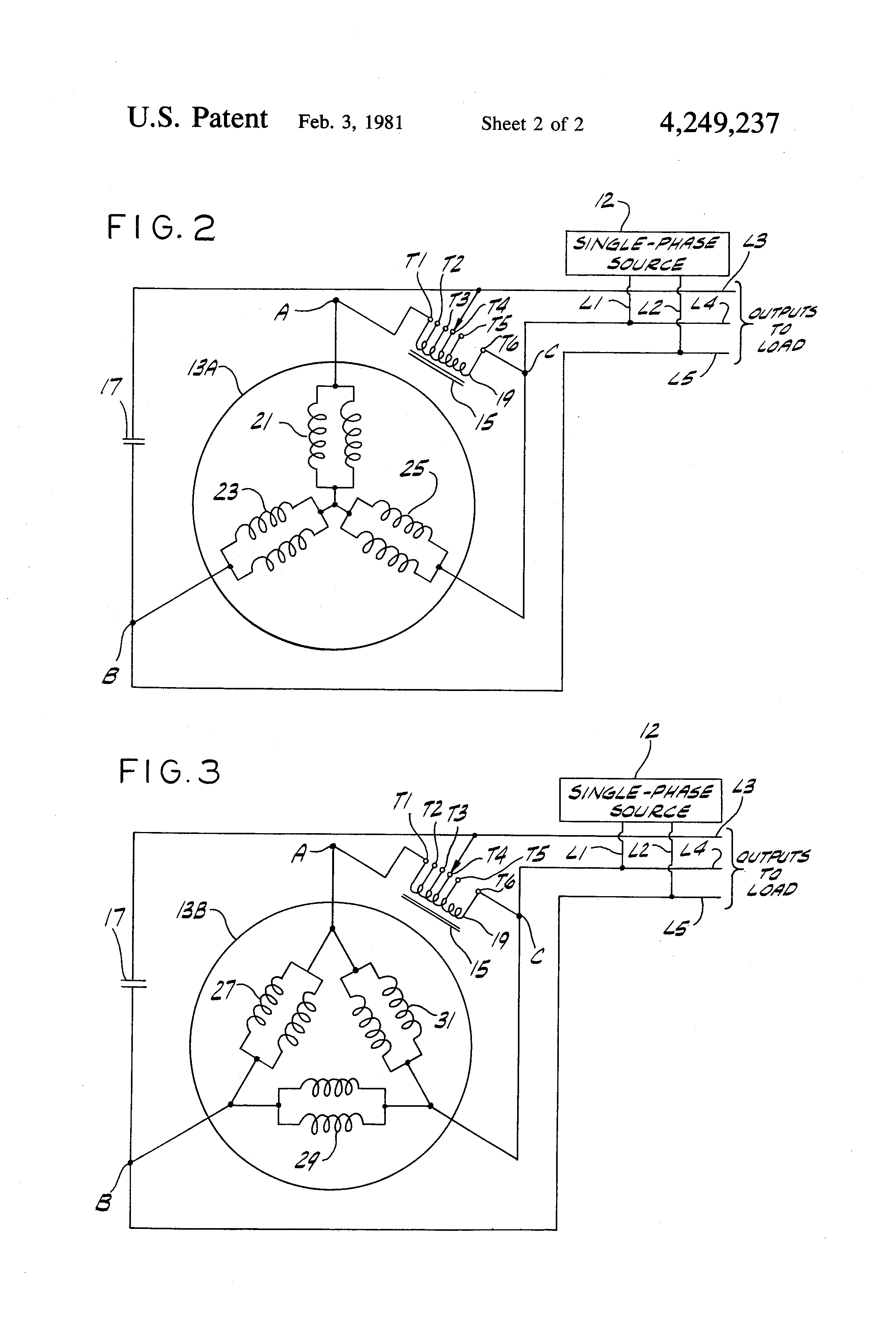 patent us rotary phase converter patents patent drawing
