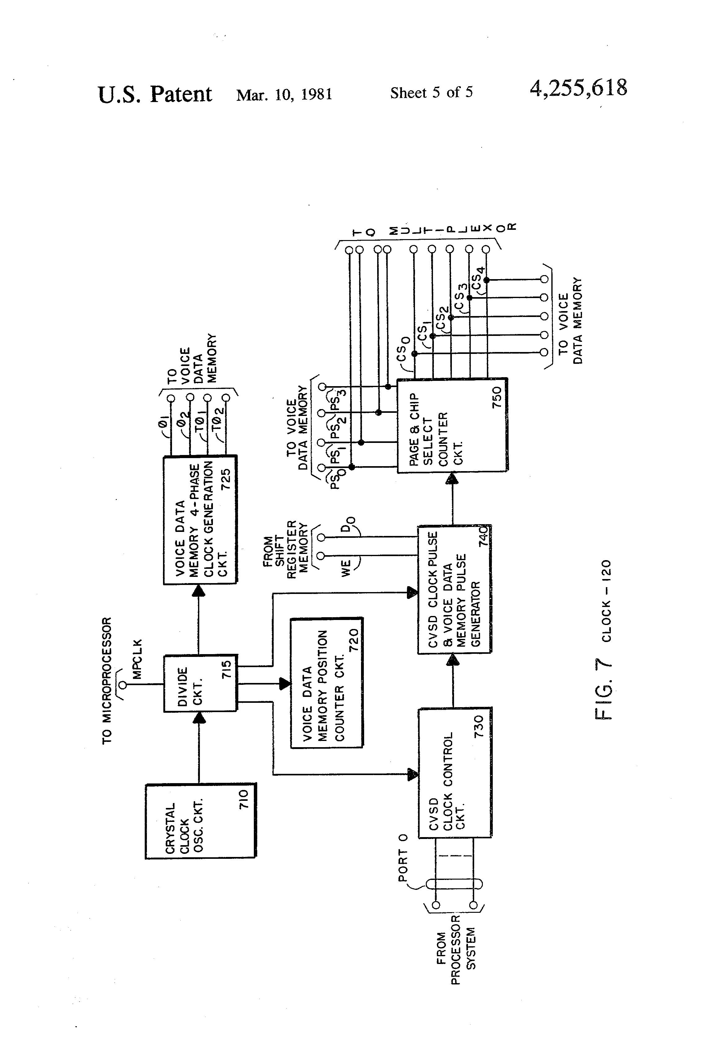 patent us4255618  announcer