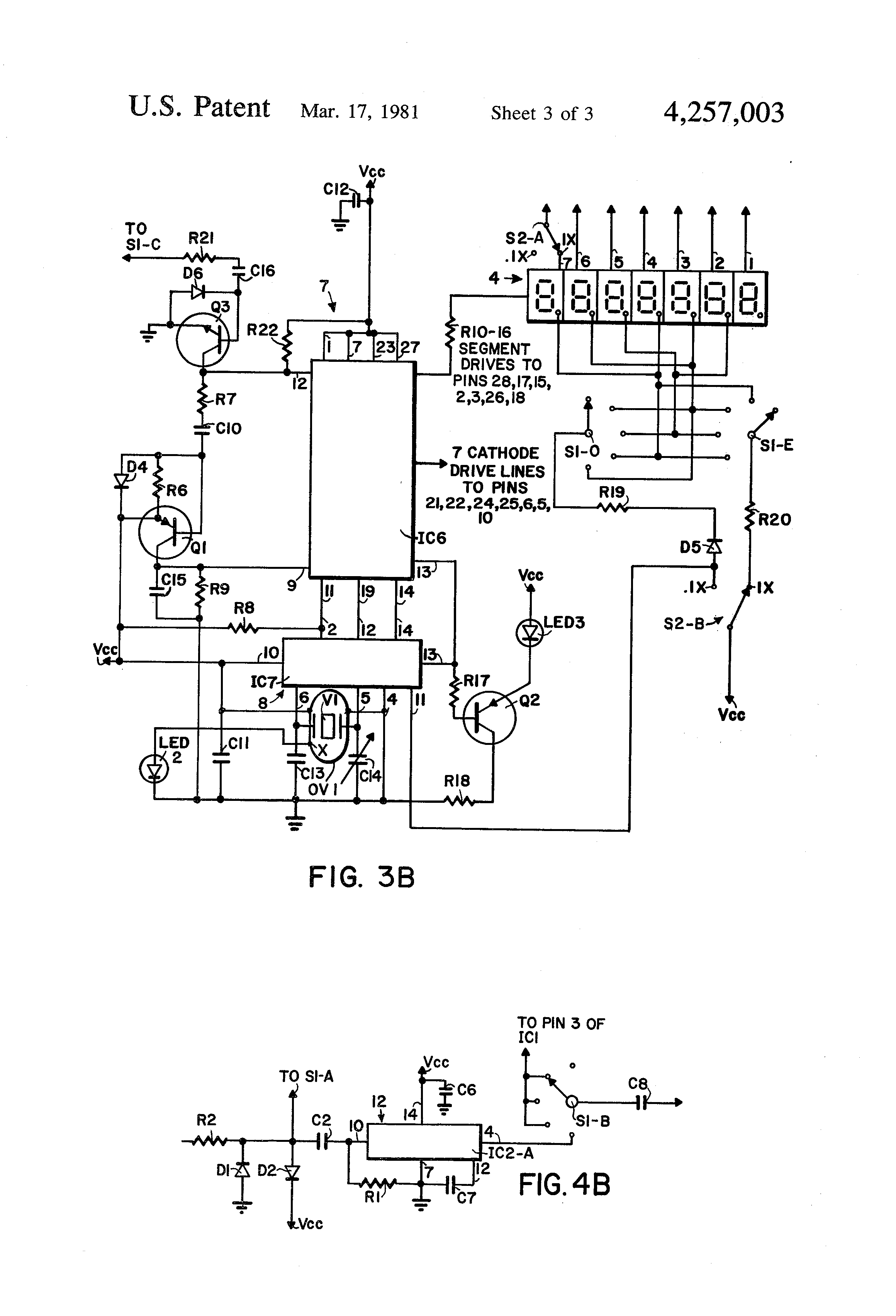 patent us4257003 - wide range frequency counter