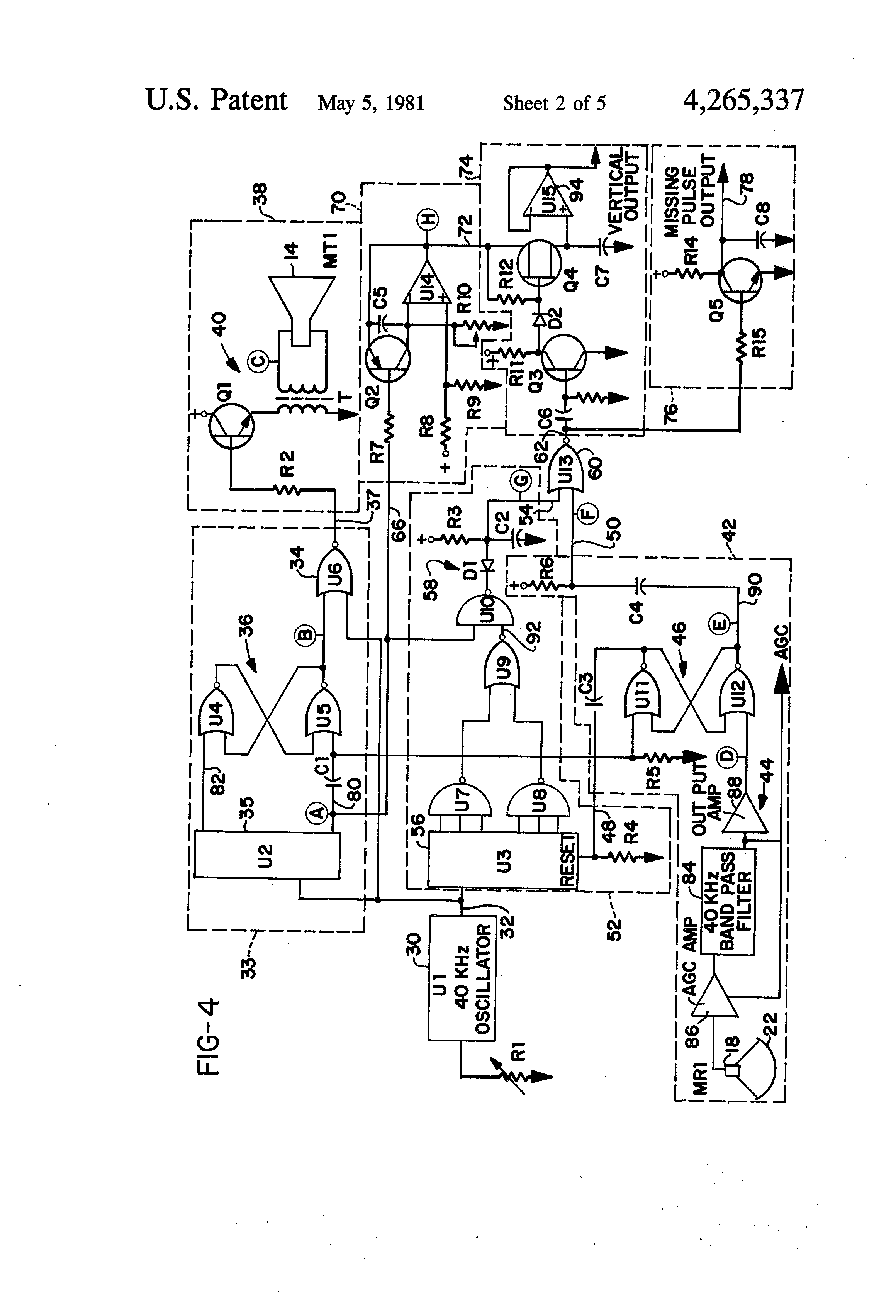 patent us4265337 fork lift truck speed control dependent upon patent drawing