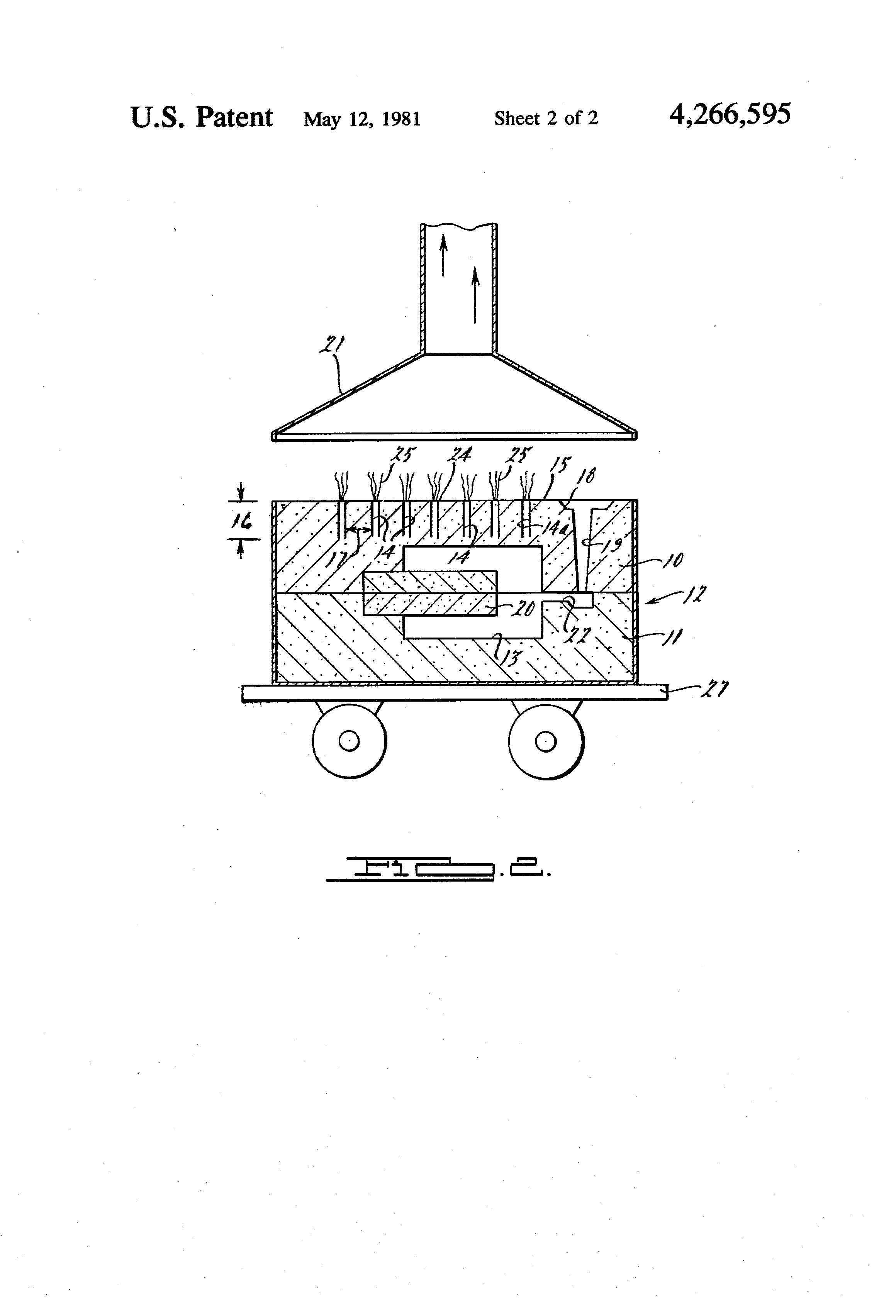 Patent us4266595 use of mold venting practices in green for Musty odor definition