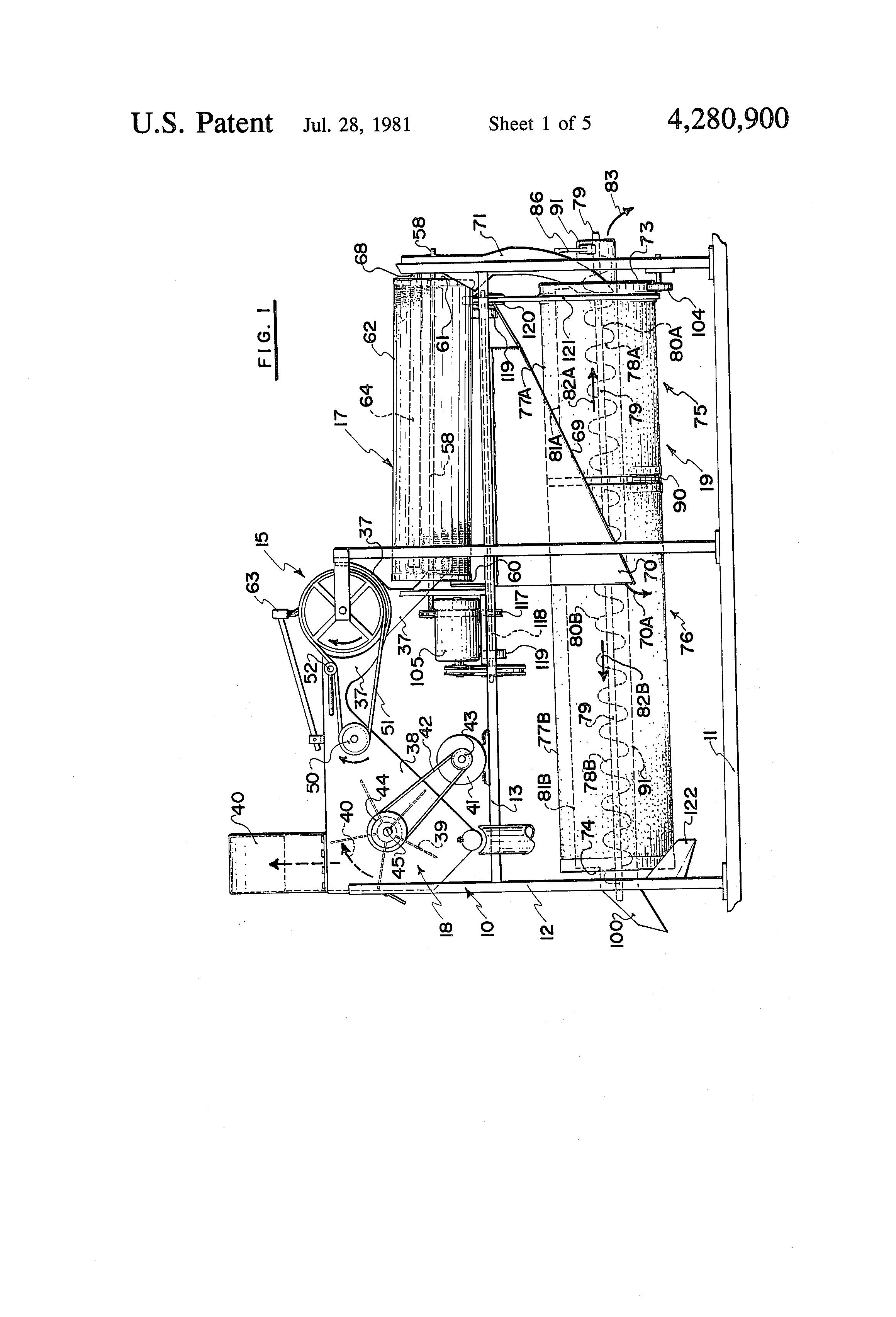 rotary screen drum screen