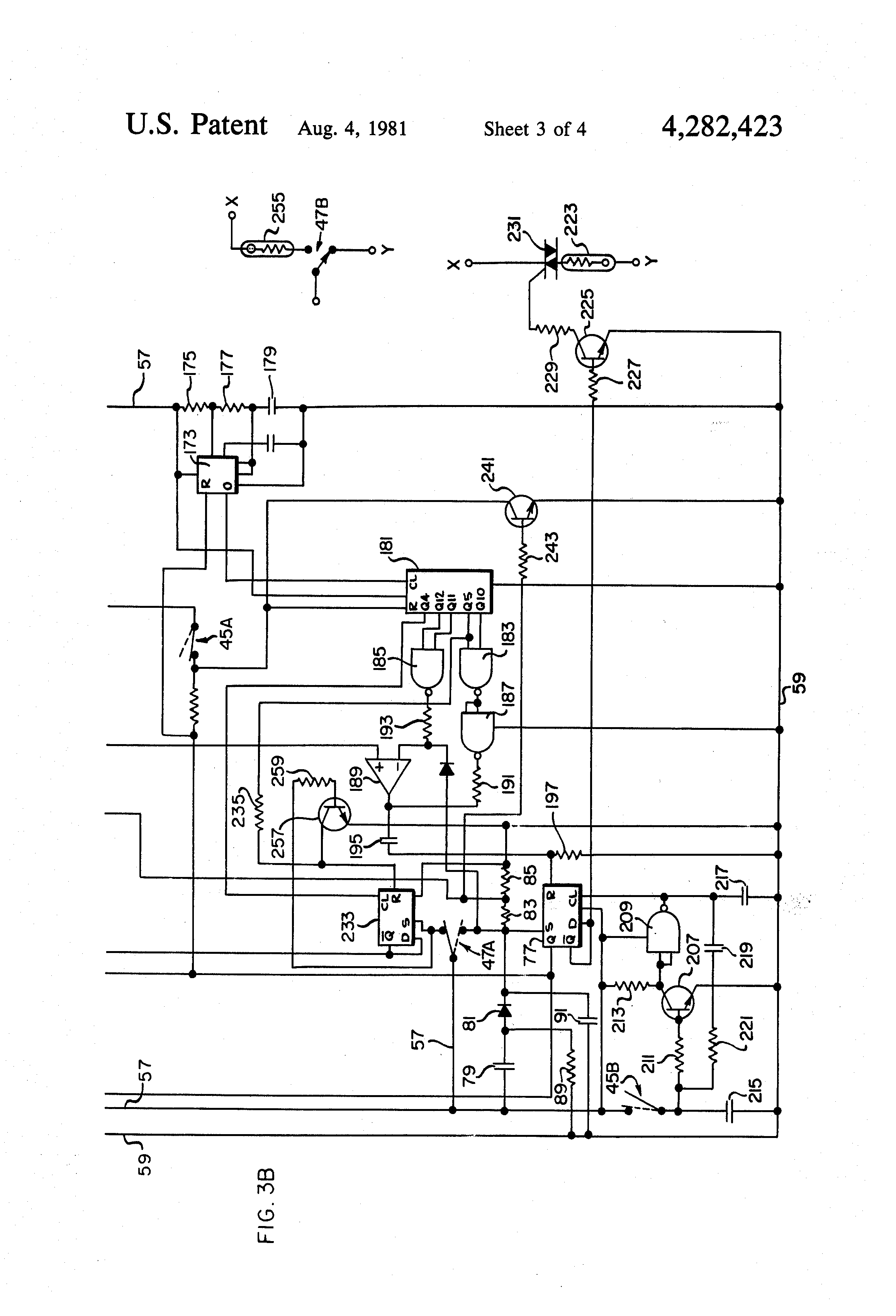patent us4282423 - deep fat fryer having a solid-state control circuit