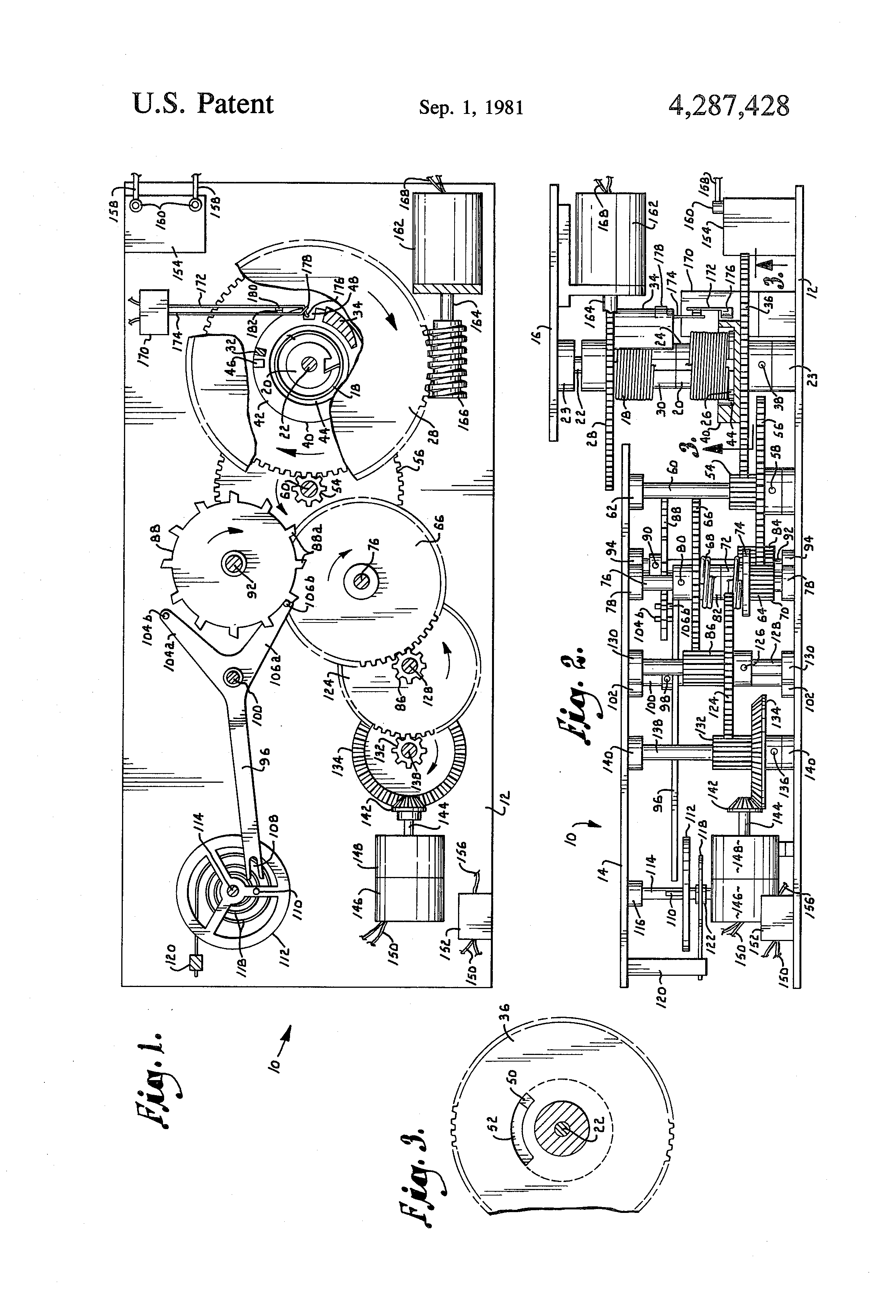 Patent Us4287428 Automatic Spring Powered Battery