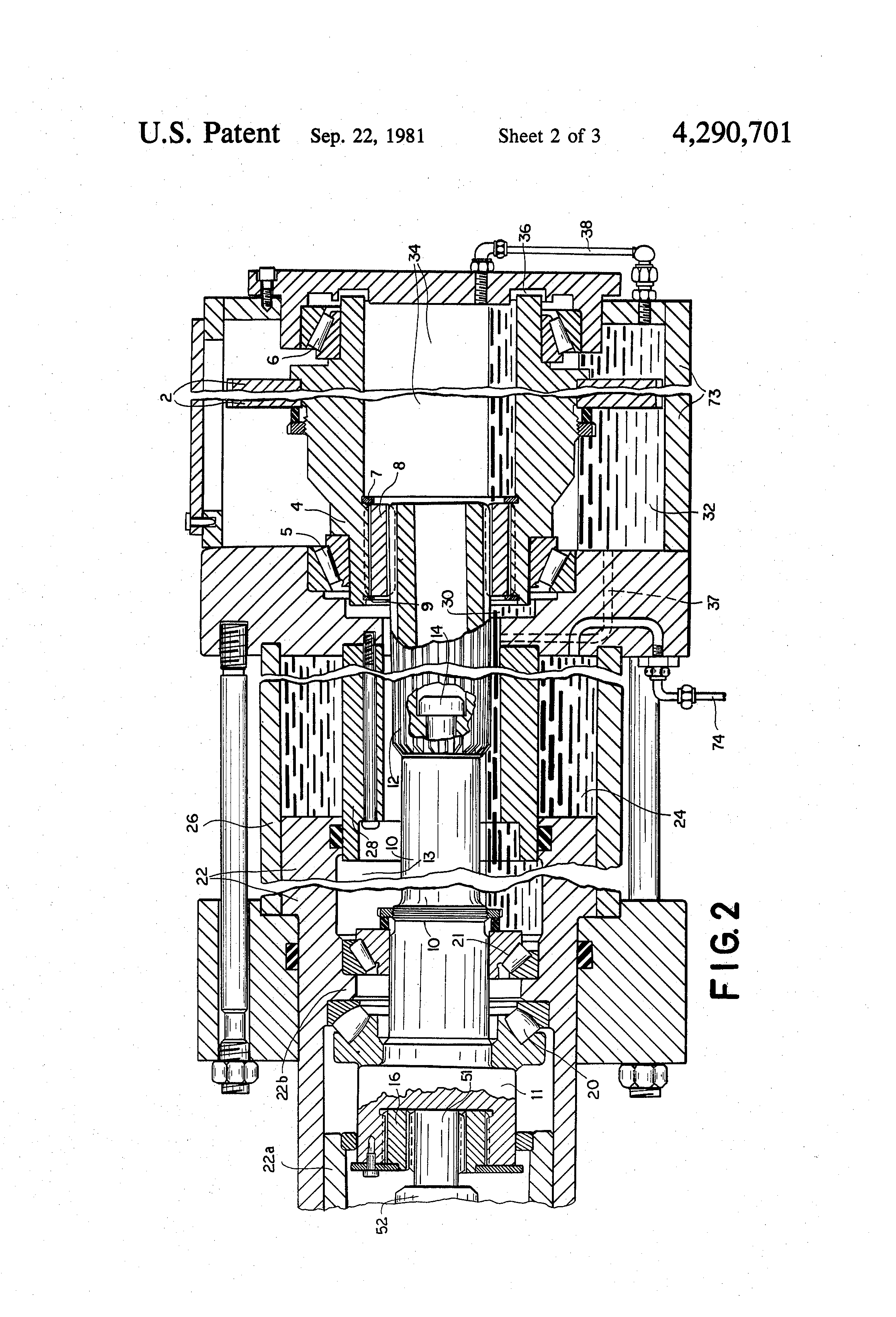 patent us4290701 - injection-molding machine with reciprocating plasticizing screw