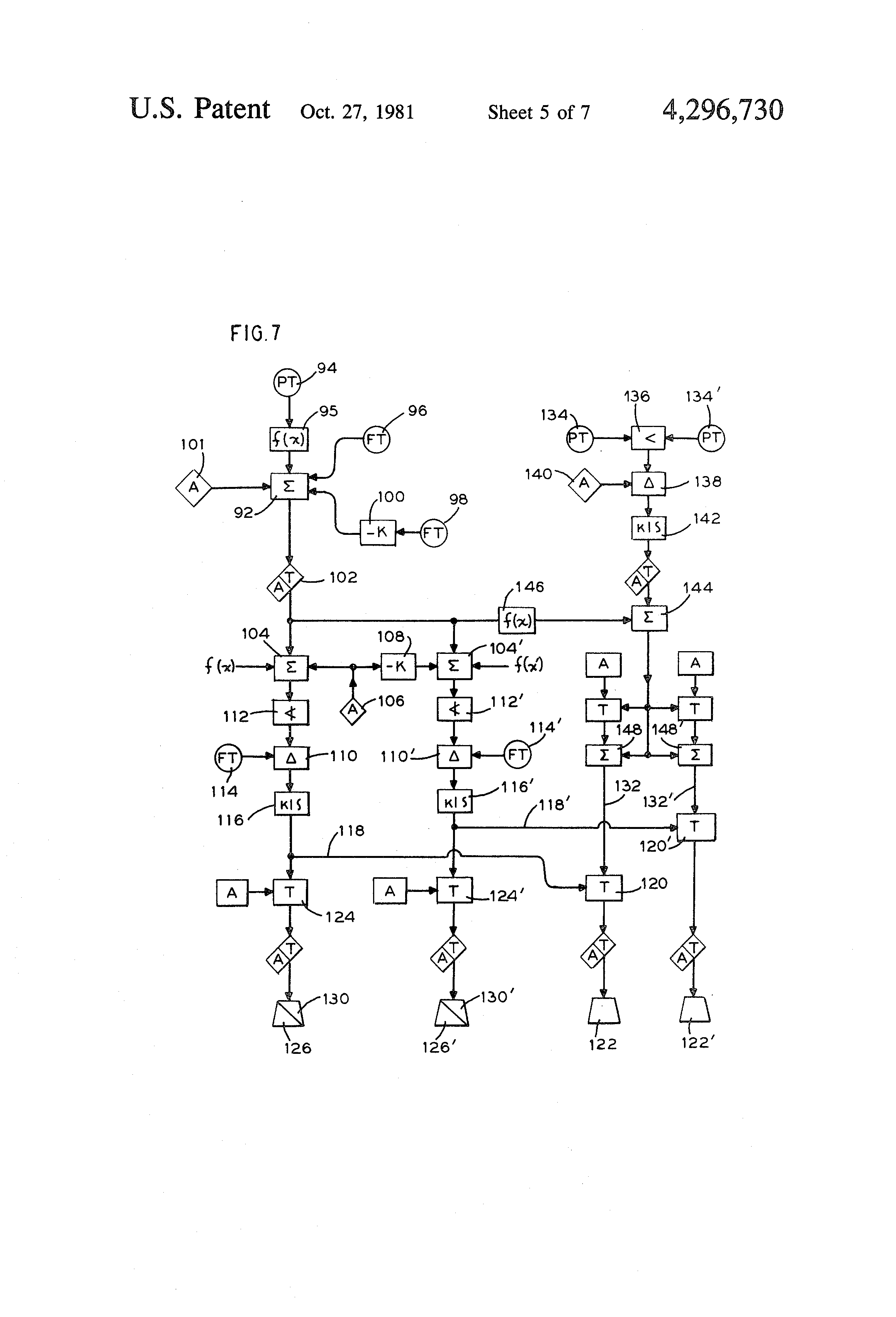 Patent US Control system for a solar steam generator