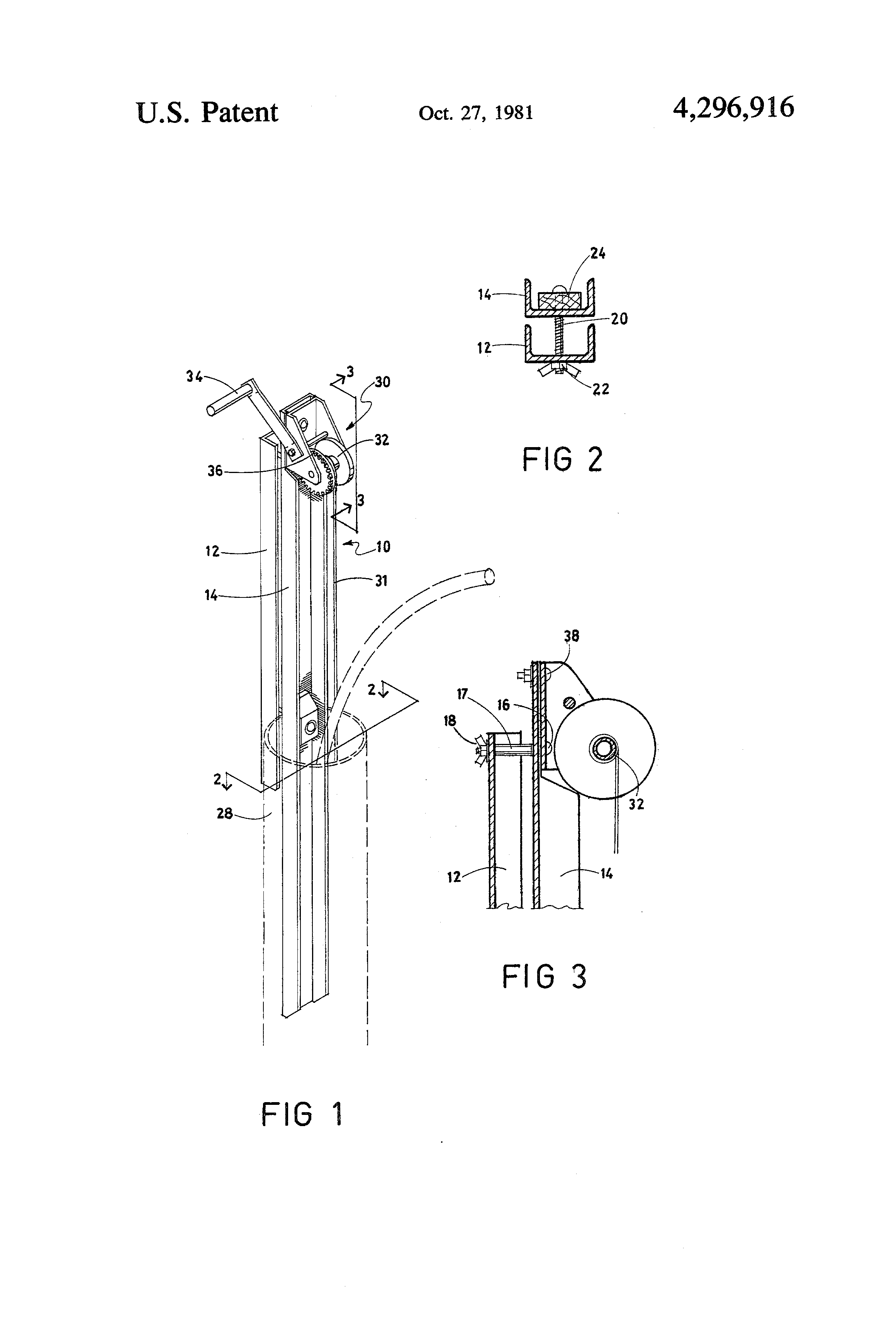 patent us4296916 - submersible pump puller