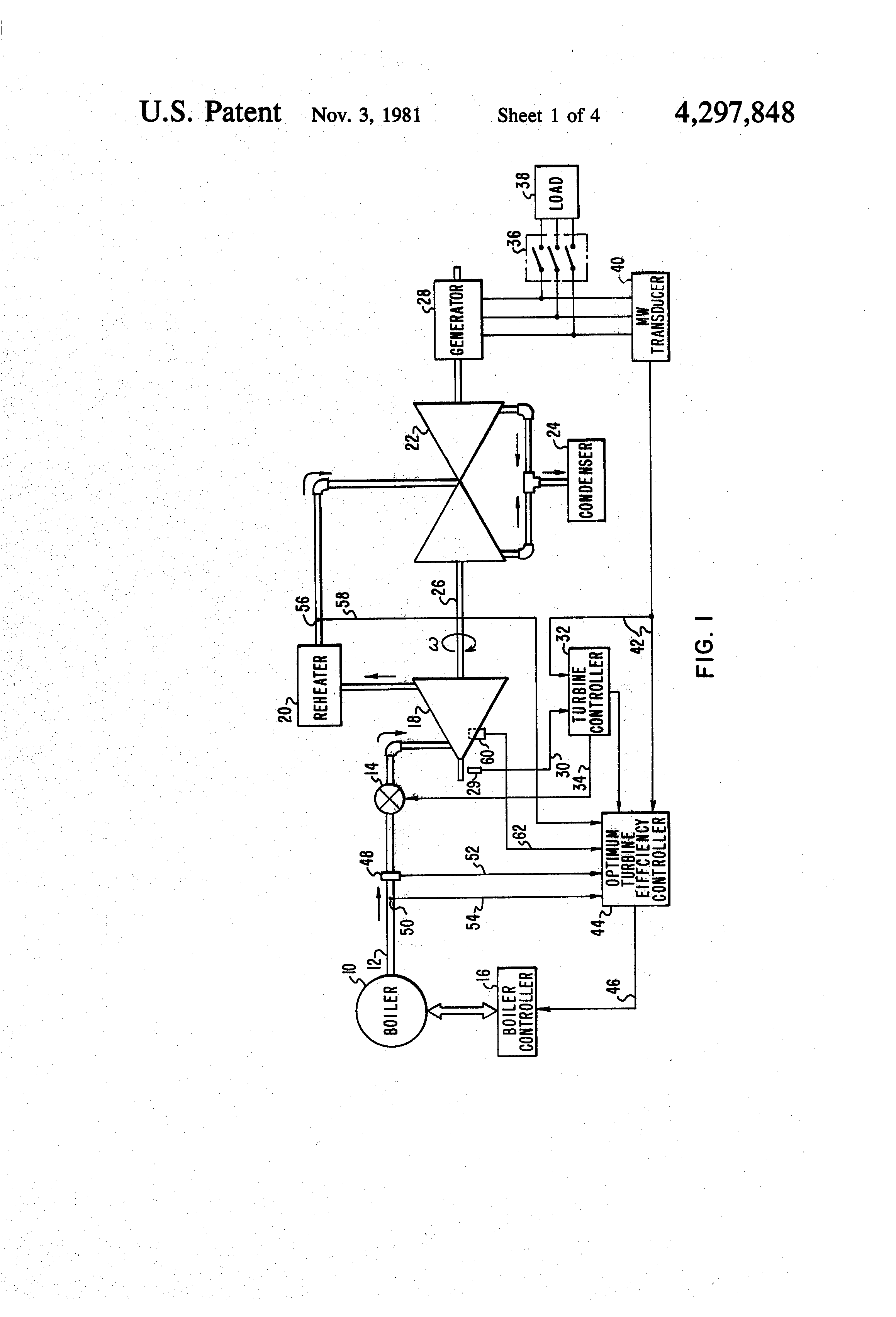Patent US Method of optimizing the efficiency of a steam