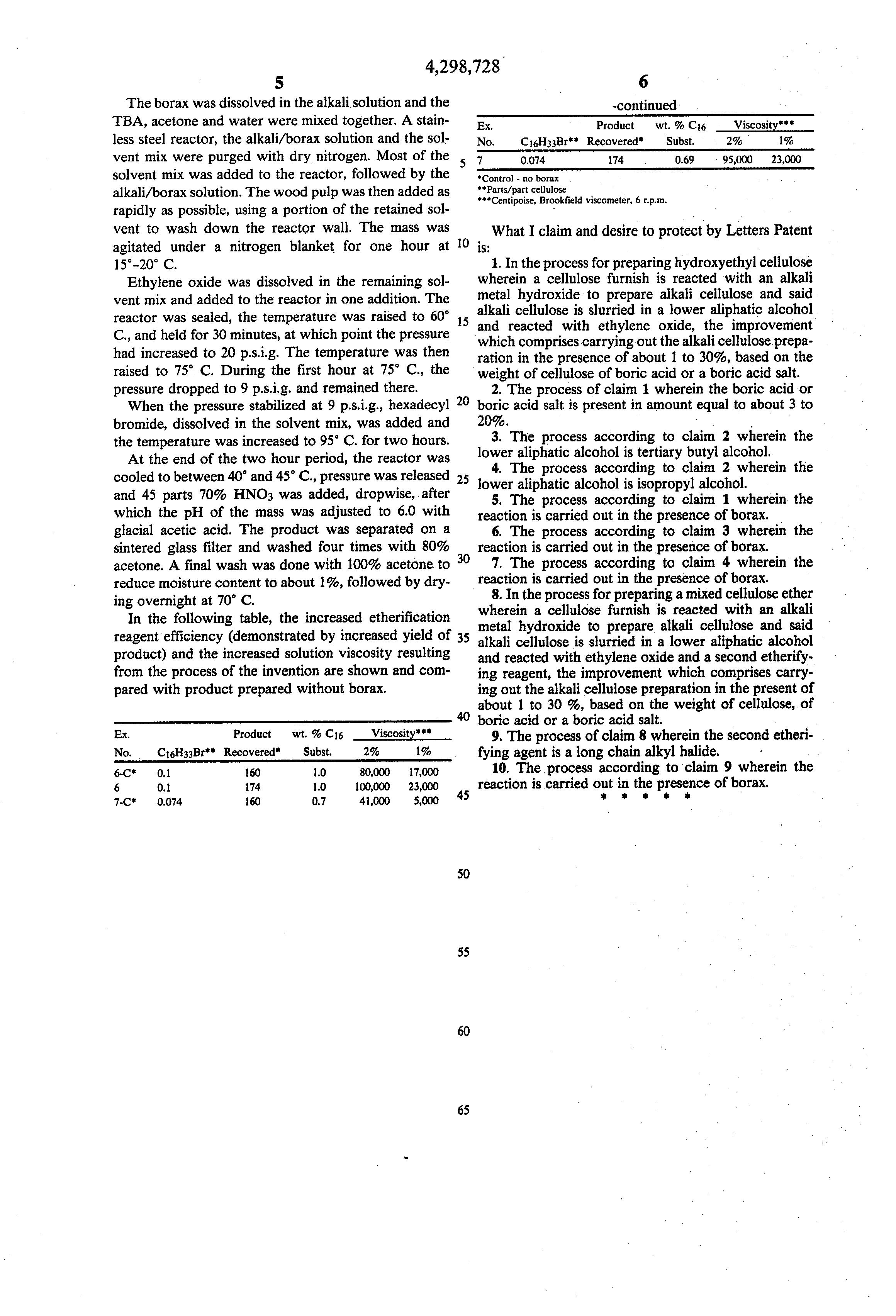 A Salt Of Boric Acid  Letters