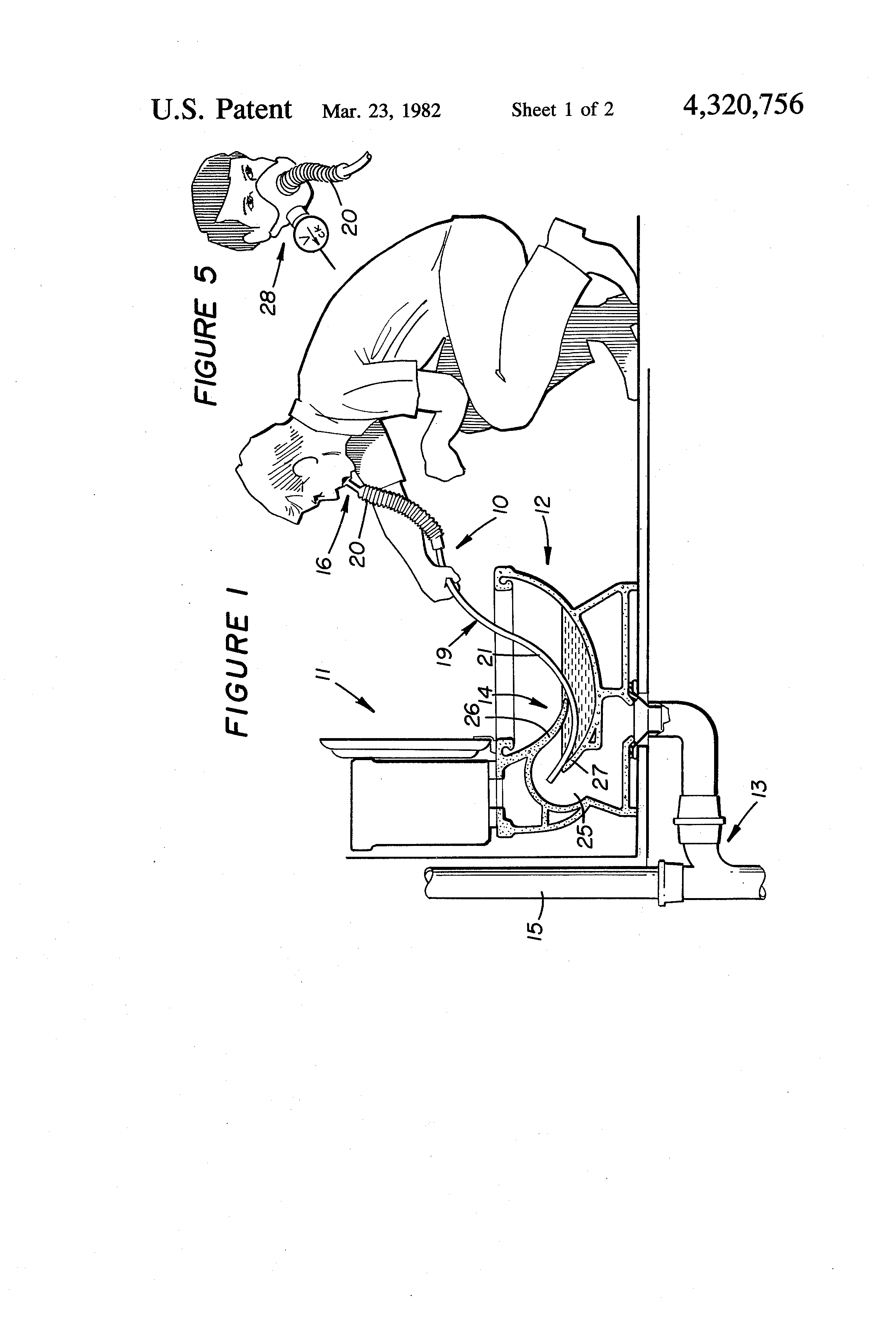 Patent Us4320756 Fresh Air Breathing Device And Method