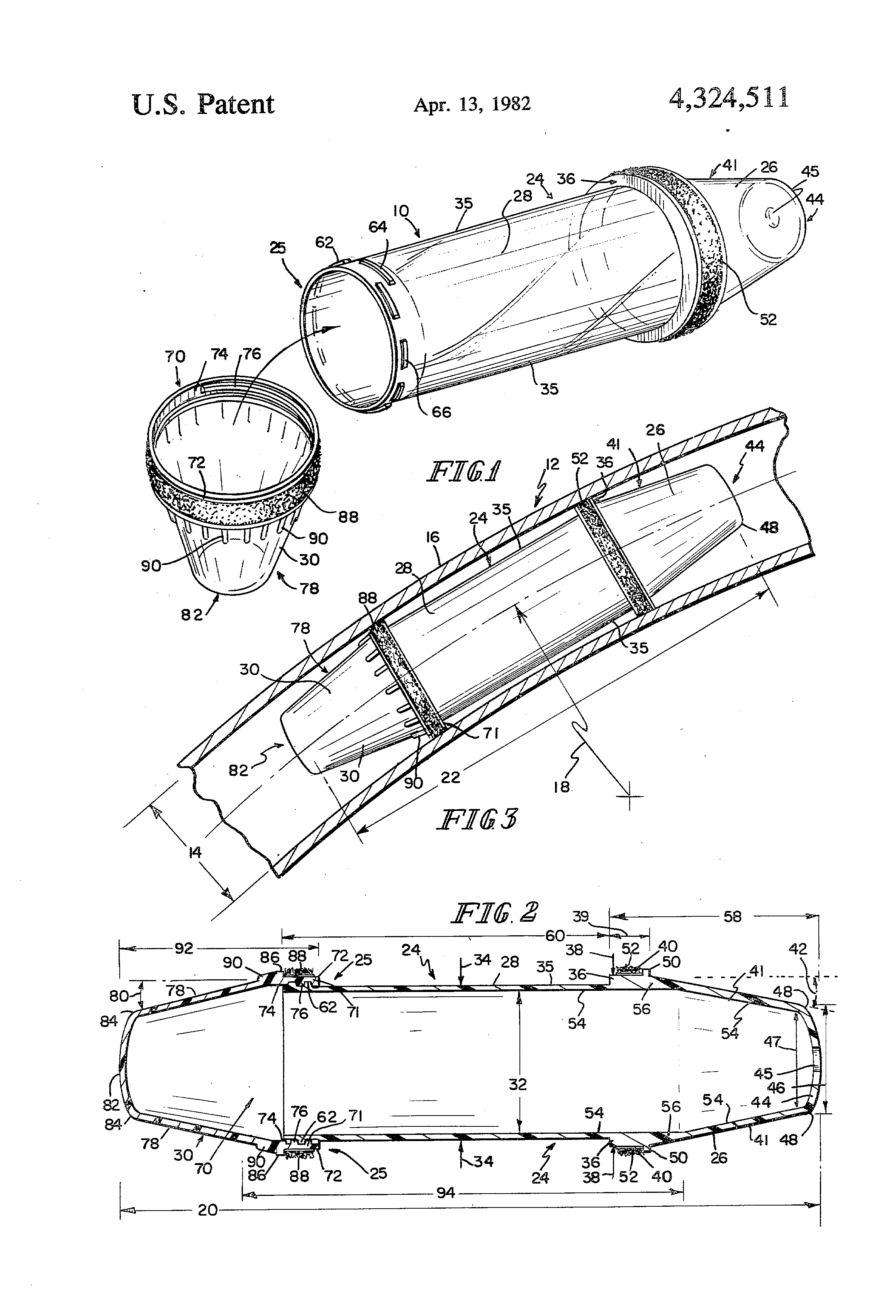 Patent us carrier for pneumatic tube systems