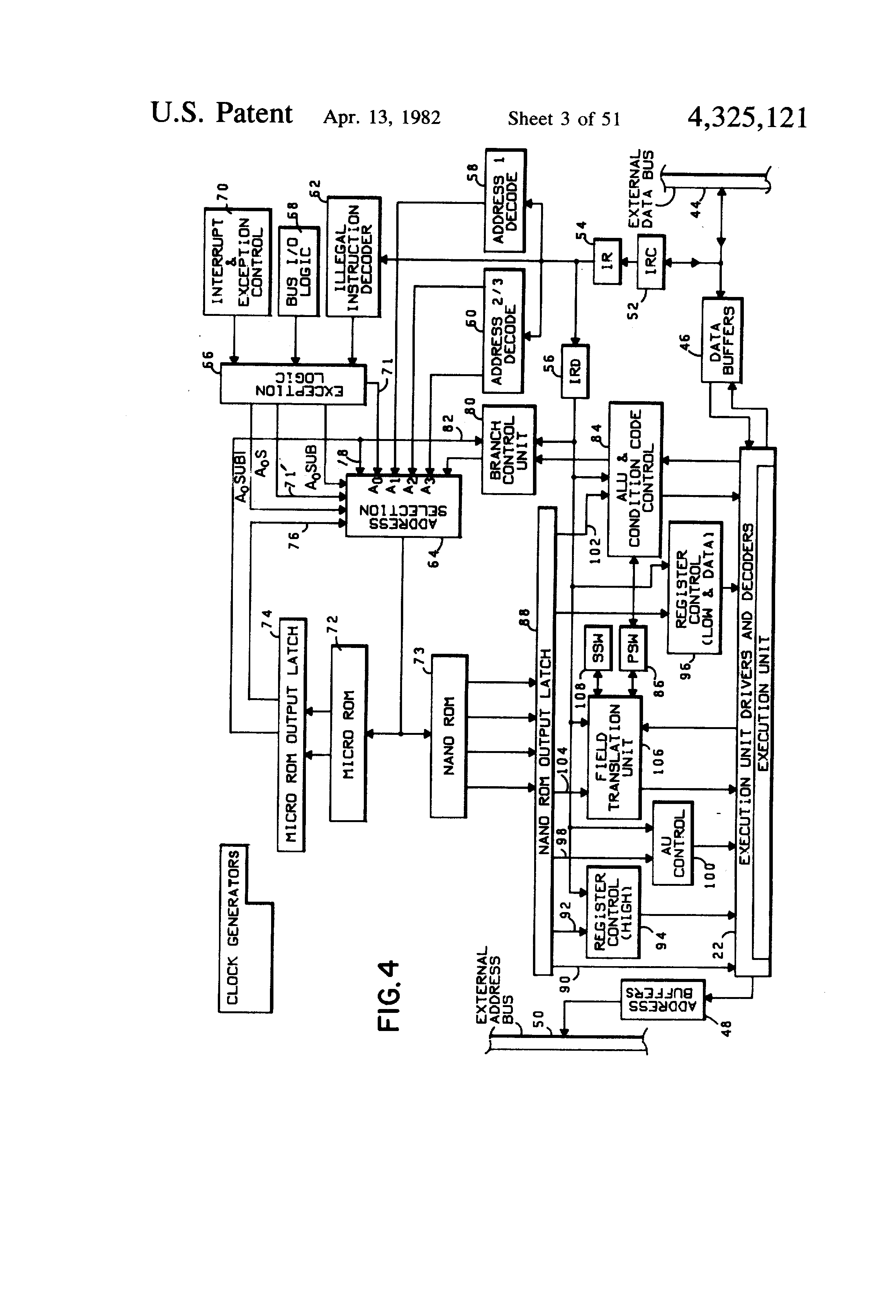 US4325121 3 patent us4325121 two level control store for microprogrammed 5.0L Coyote at panicattacktreatment.co