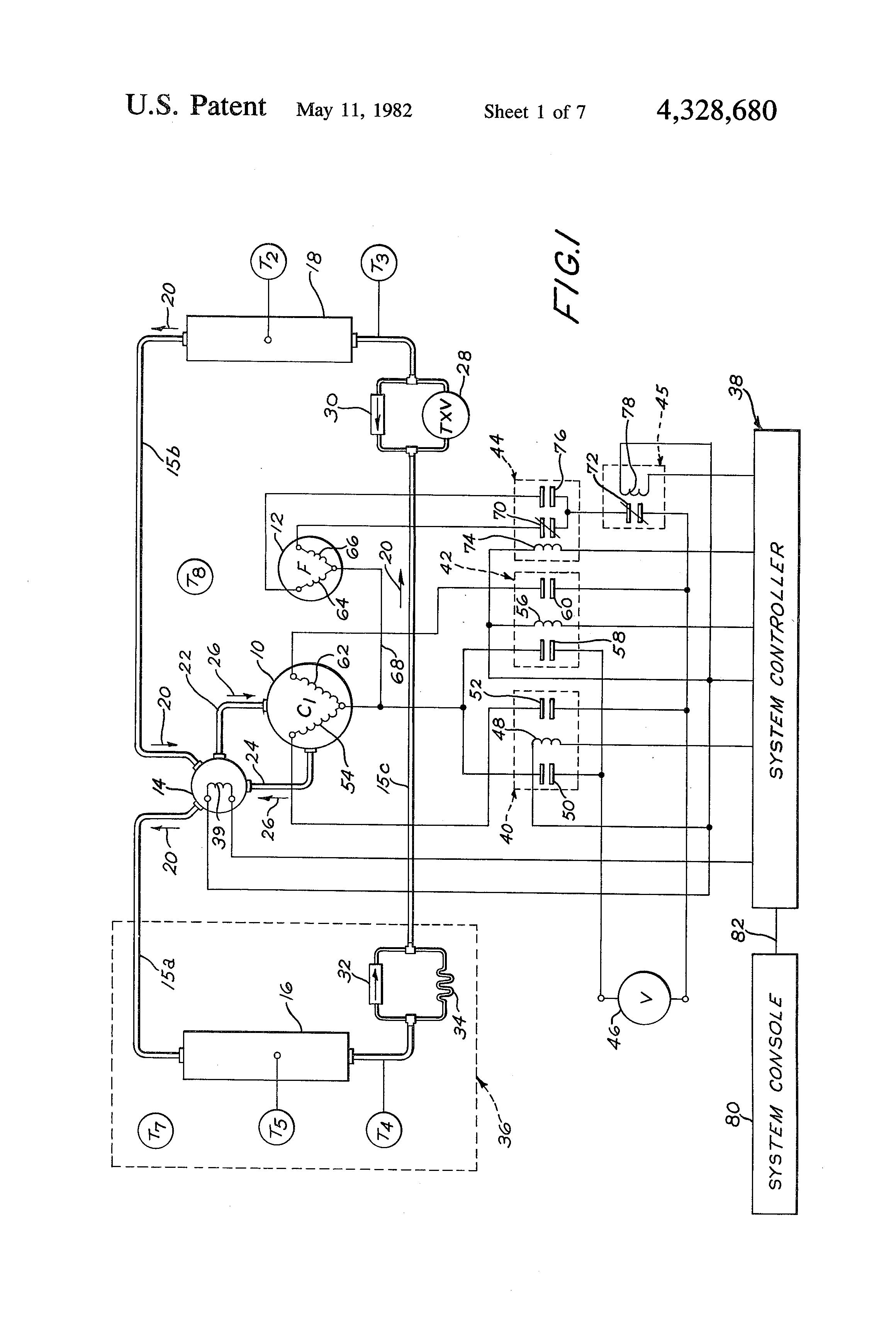 patent us4328680 heat pump defrost control apparatus google patent drawing