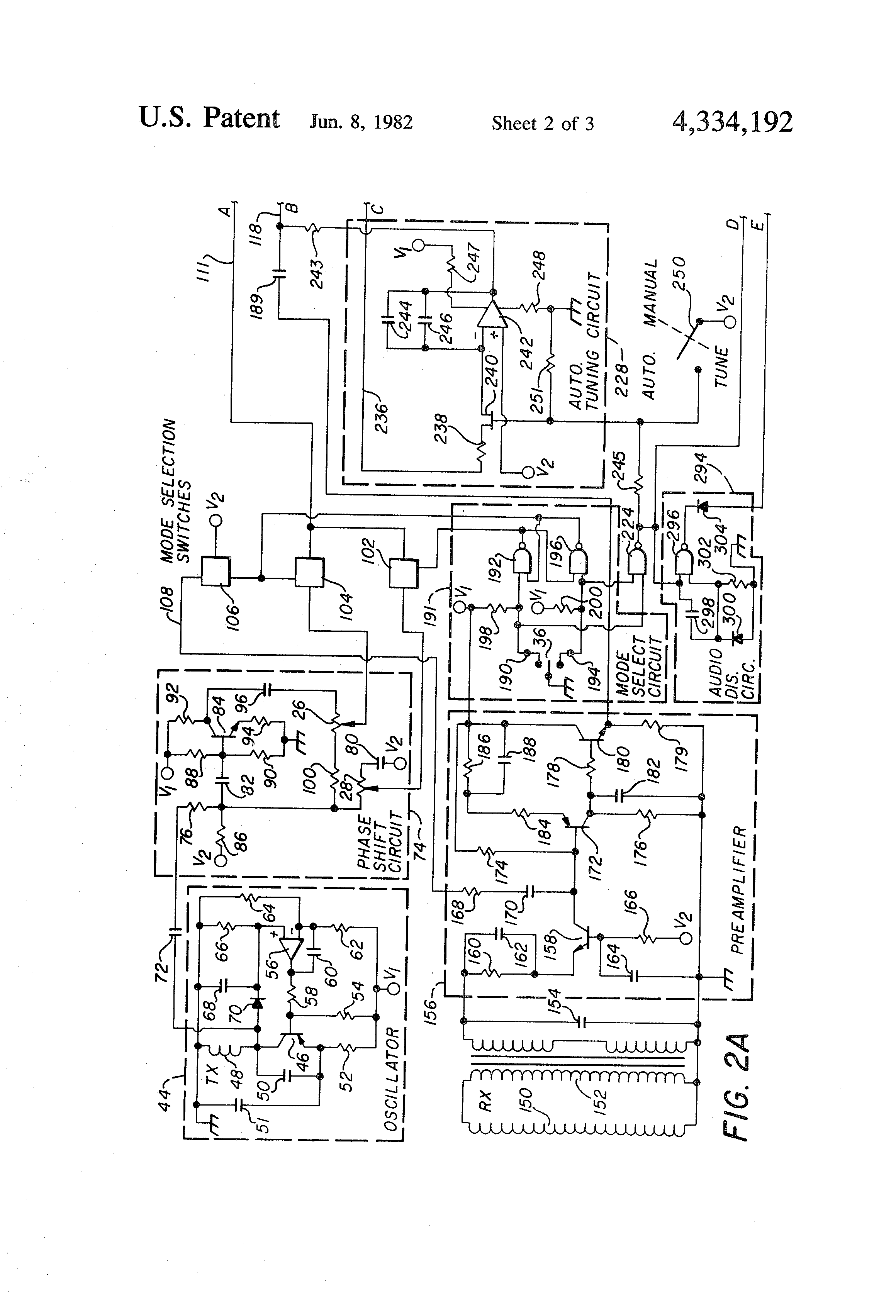US4334192 3 pat search diagram no safe search \u2022 wiring diagram database  at n-0.co