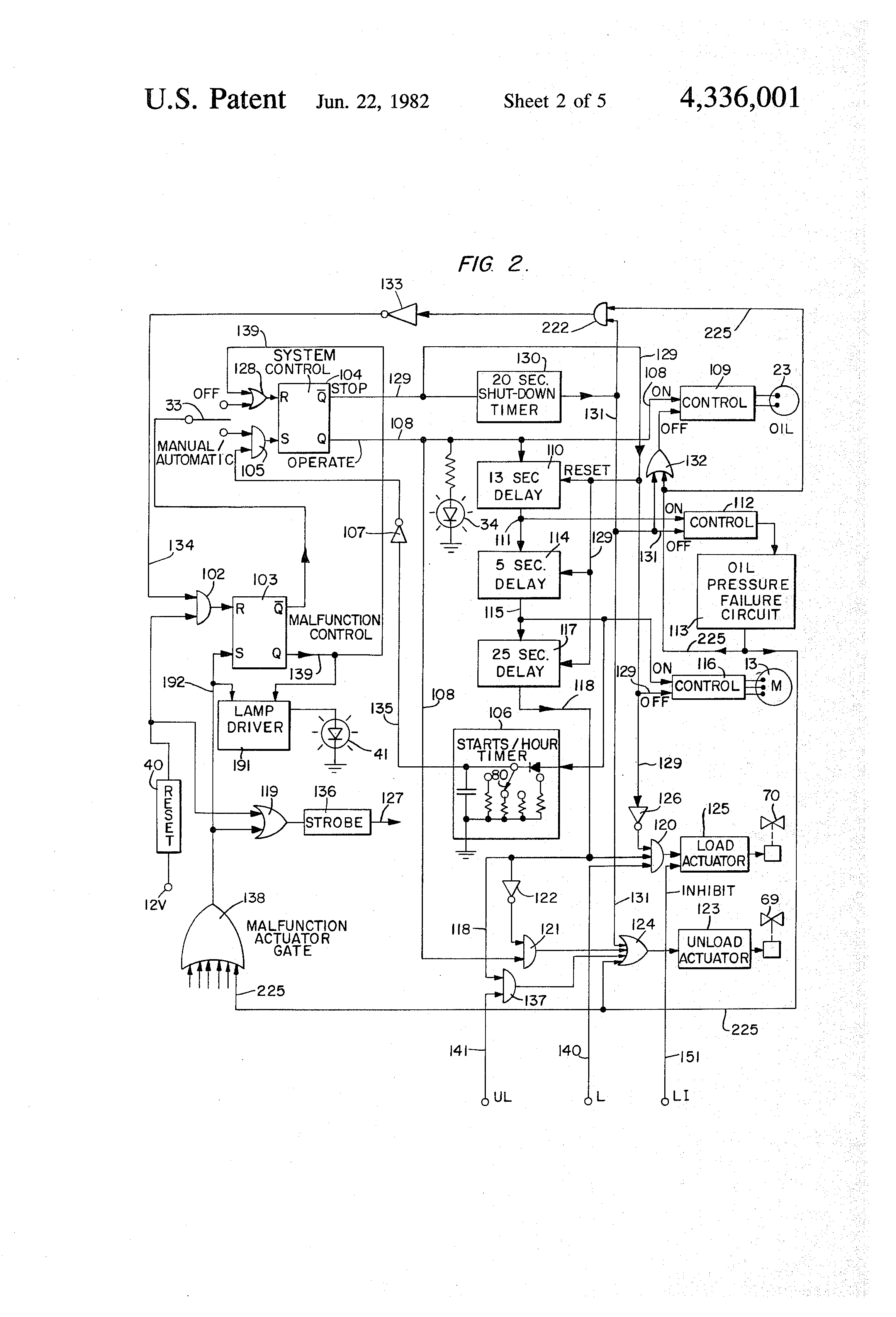 US4336001 2 patent us4336001 solid state compressor control system google atlas copco 185 compressor wiring diagram at n-0.co