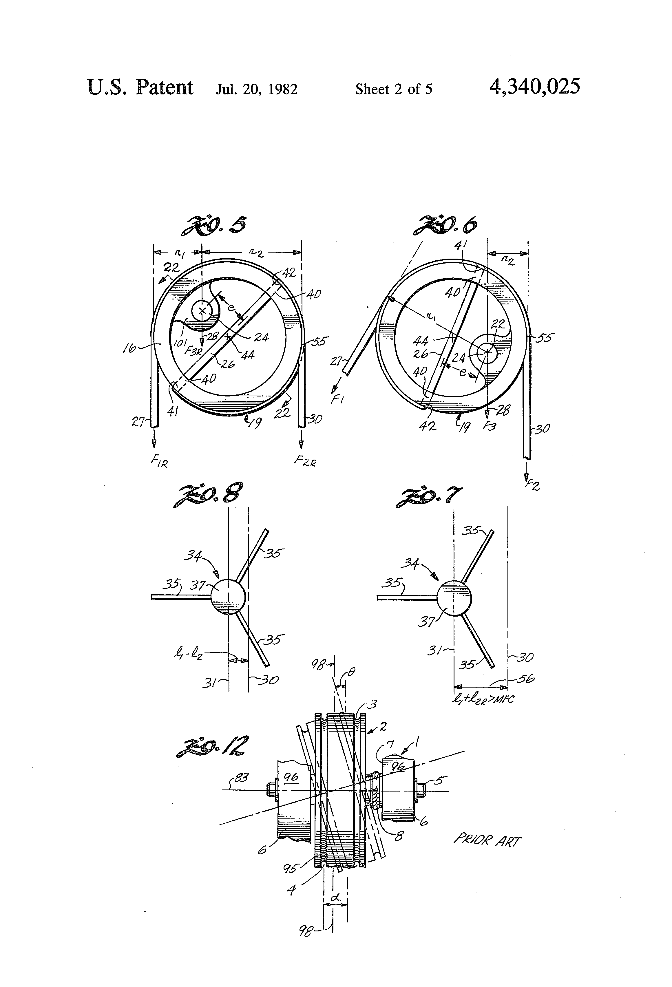 Patent US4340025 - Pulley for compound archery bow - Google Patents