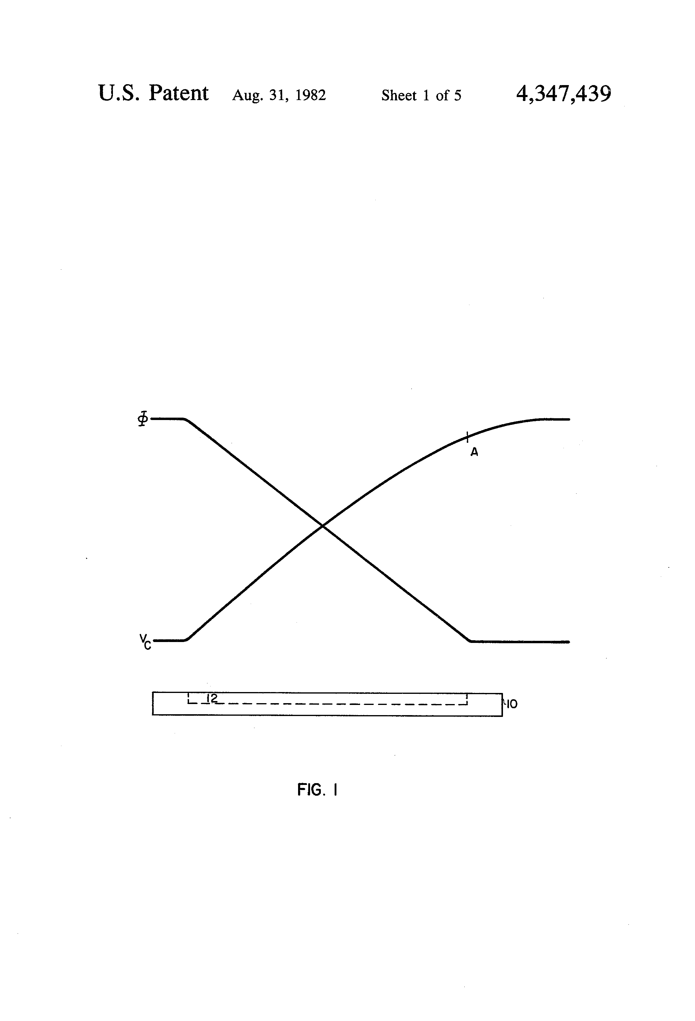Brevet Us4347439 Level Shift And Pulse Shaping Circuitry Google Figure 1 Circuit Diagram For Shifter Patent Drawing