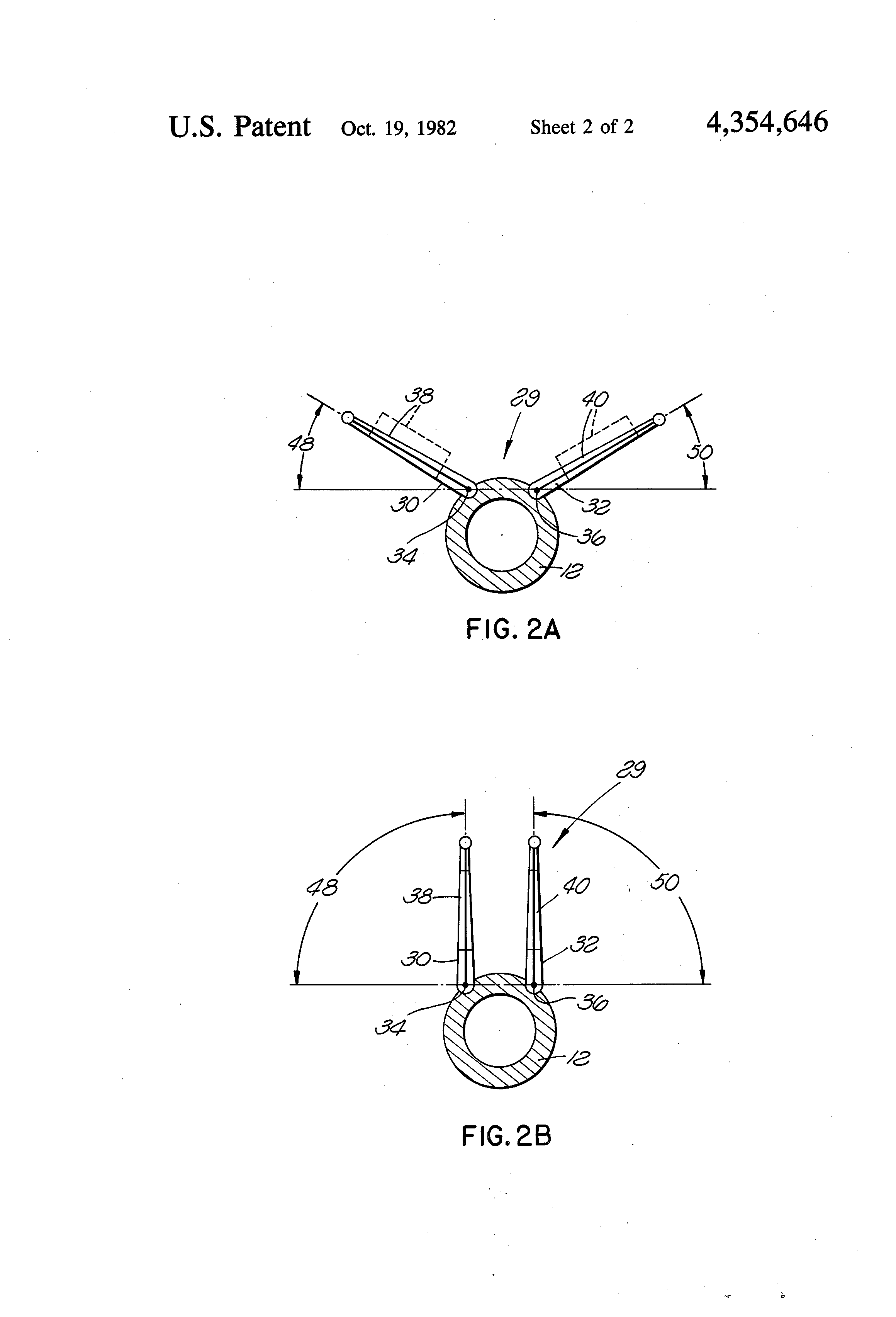 patent us4354646 variable dihedral angle tail unit for