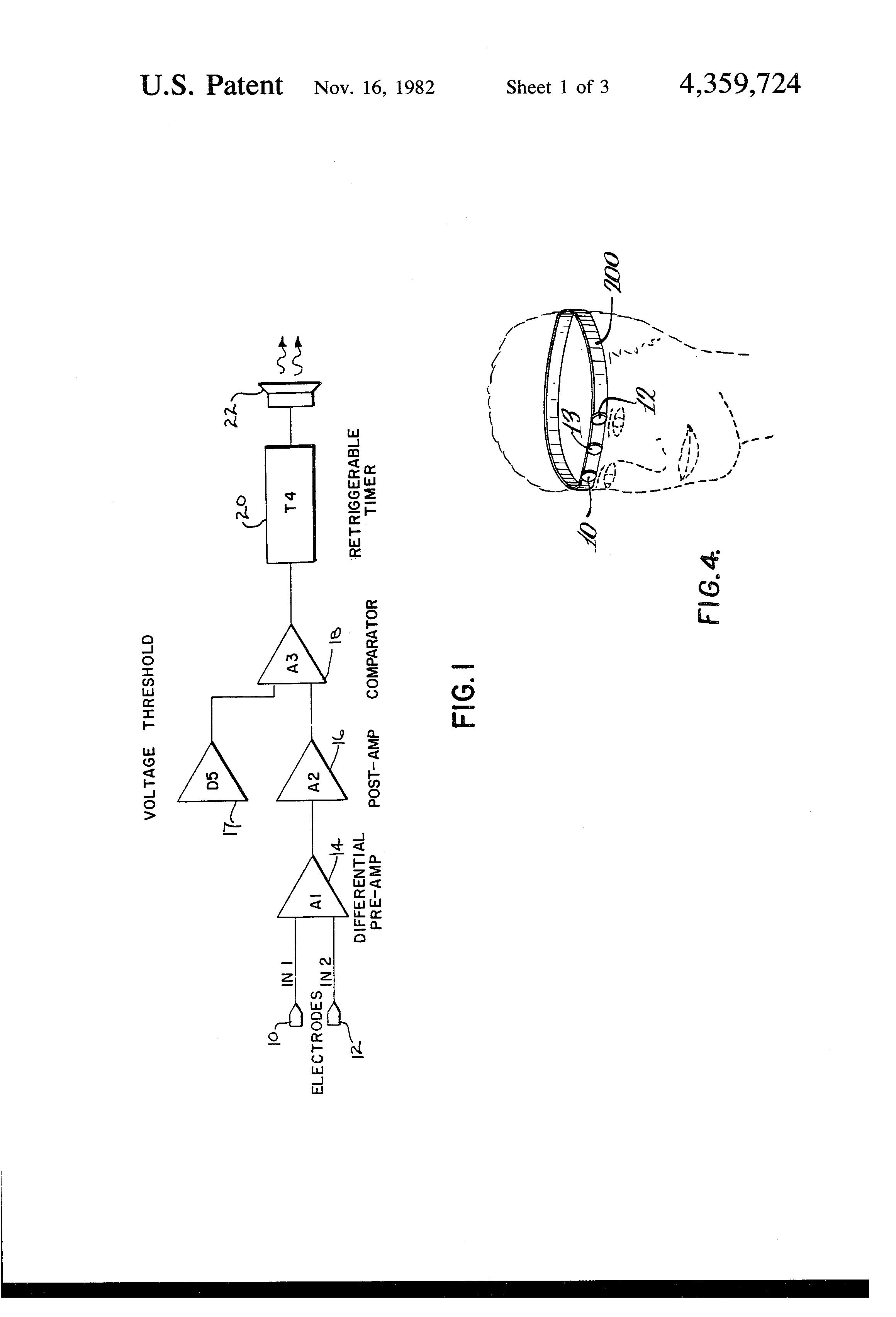 patent us4359724 - eyelid movement detector
