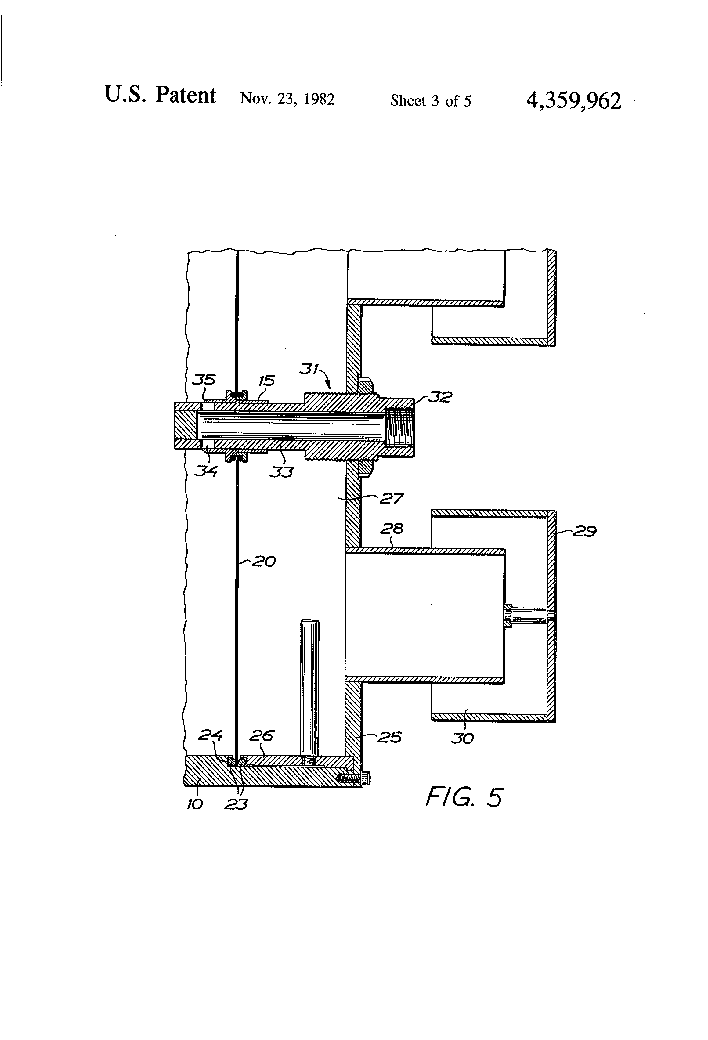 patent us4359962 - low-frequency sound generator