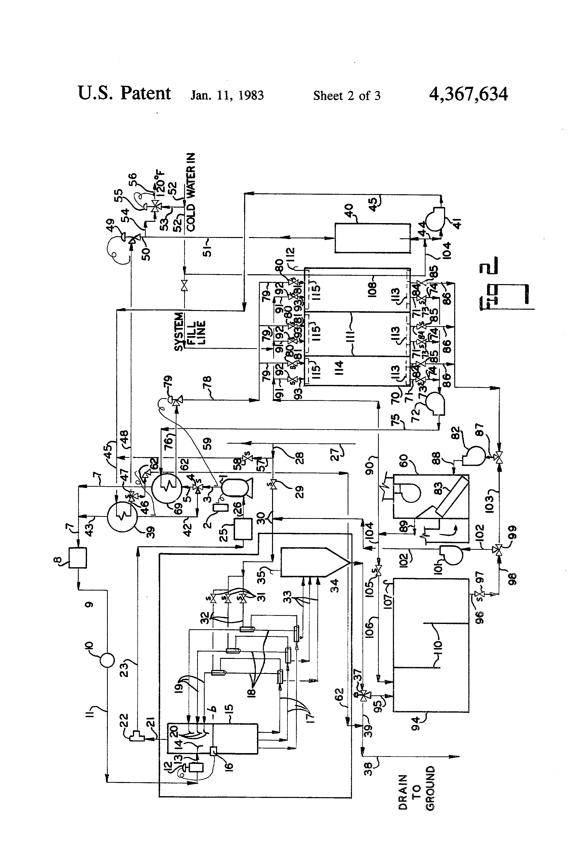 patent us4367634 modulating heat pump system google patents