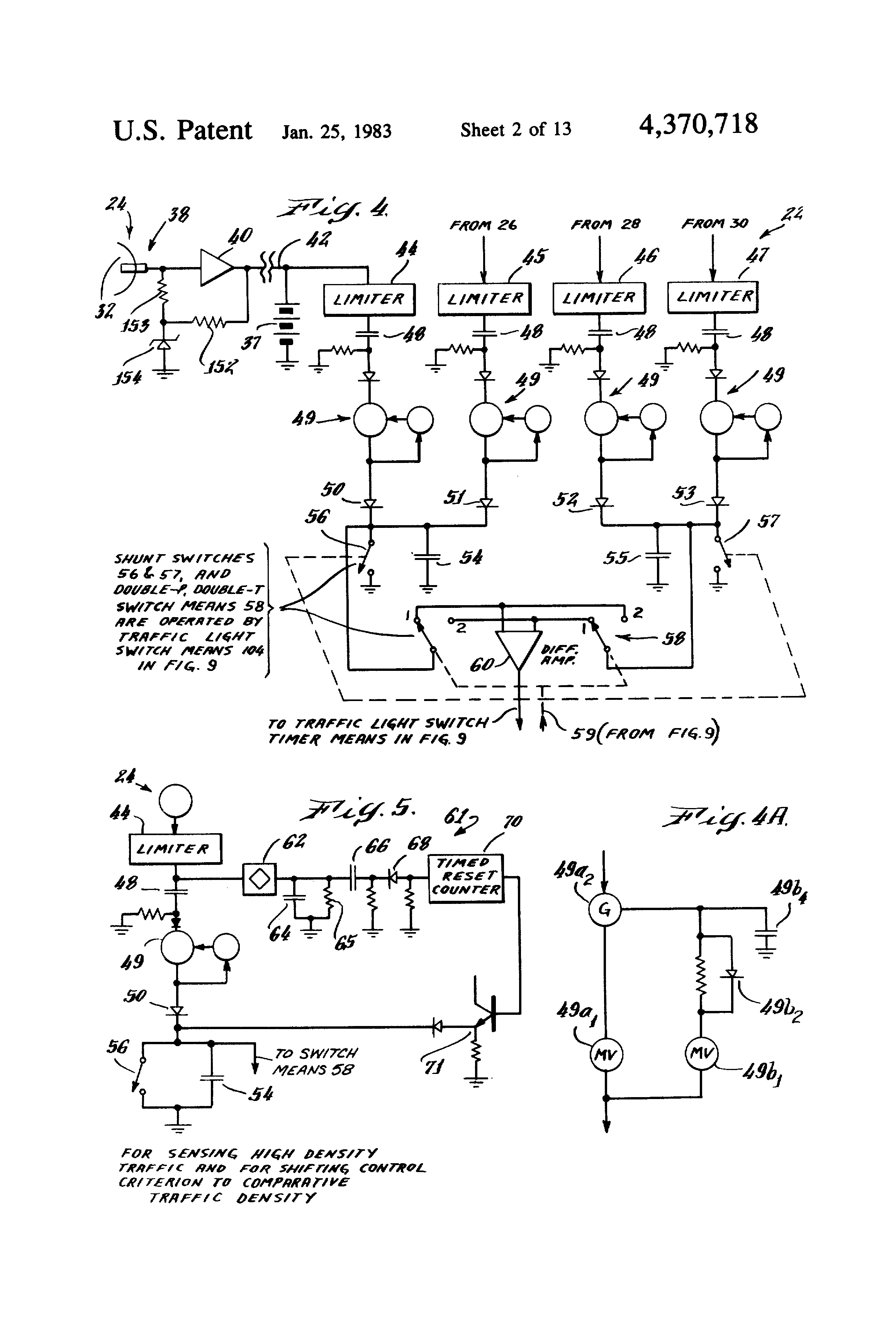 US4370718 2 patent us4370718 responsive traffic light control system and asv rc50 wiring diagram at bakdesigns.co