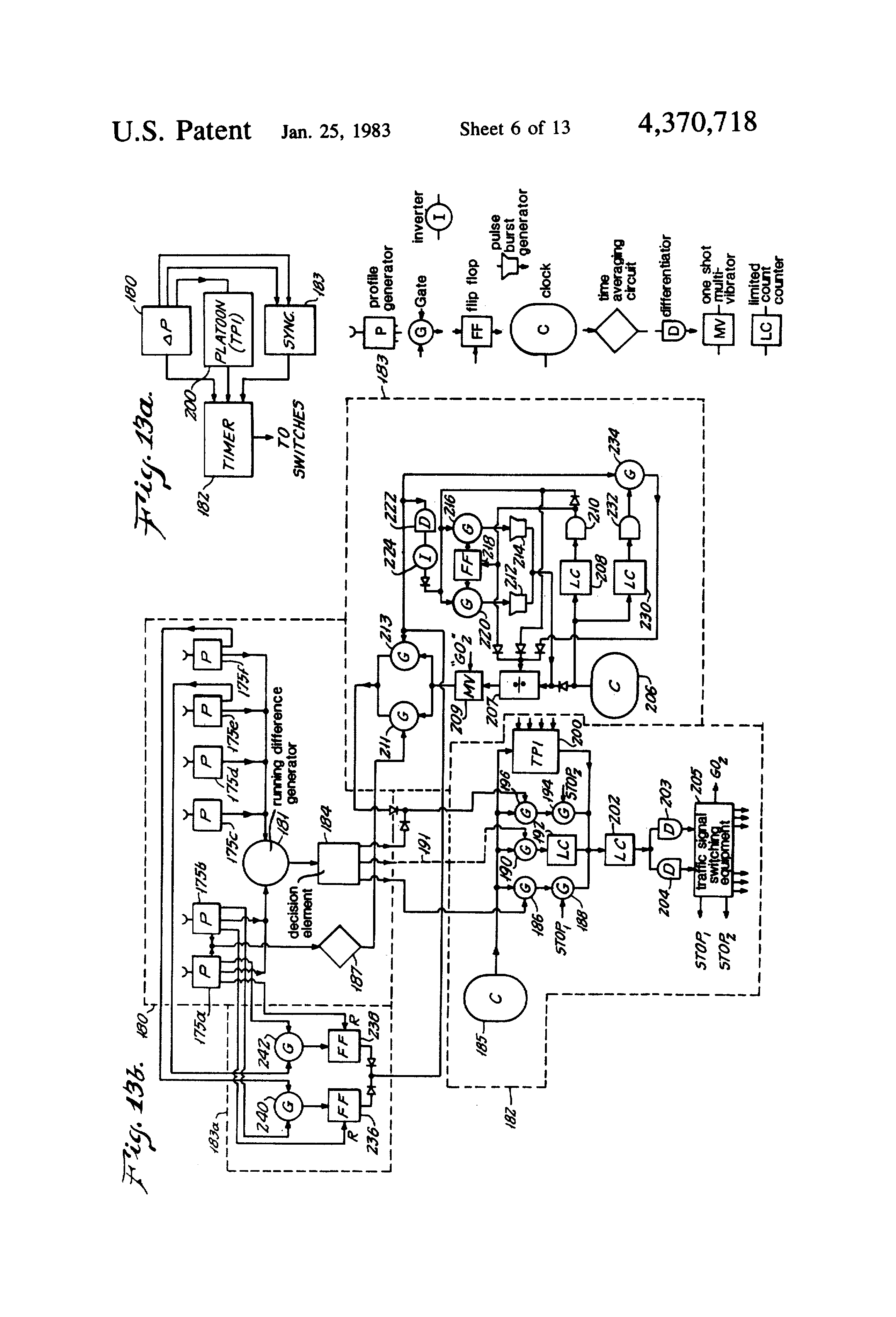 US4370718 6 patent us4370718 responsive traffic light control system and asv rc60 wiring diagram at gsmportal.co