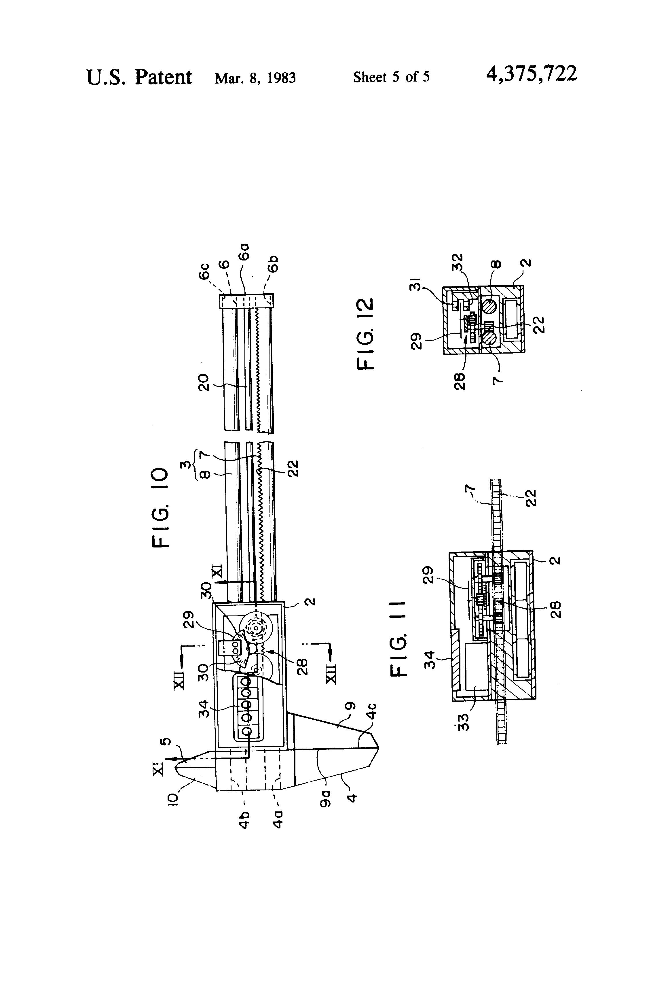 patent us4375722 - vernier caliper