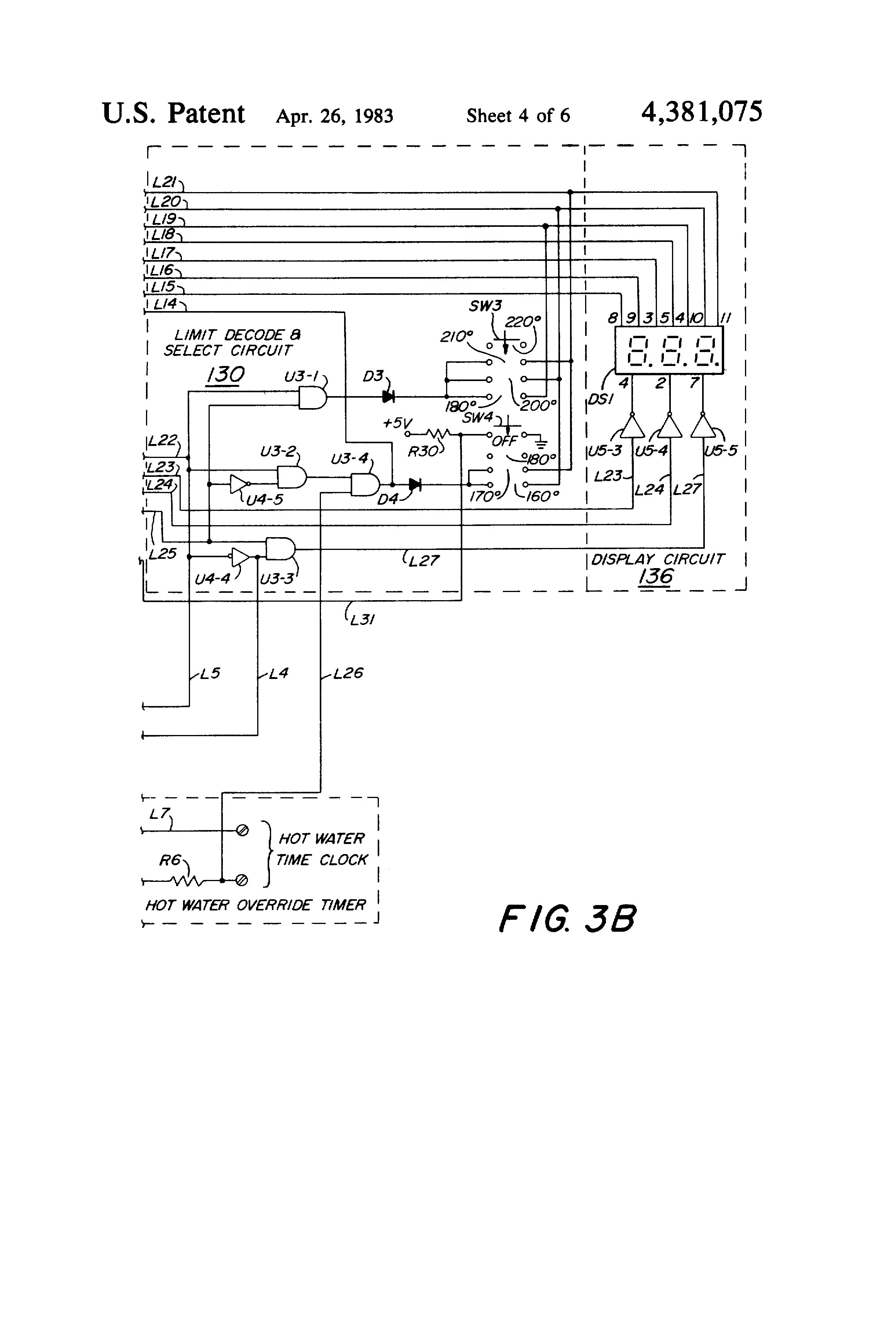 Microprocessor based controller for heating system   Patents #373737
