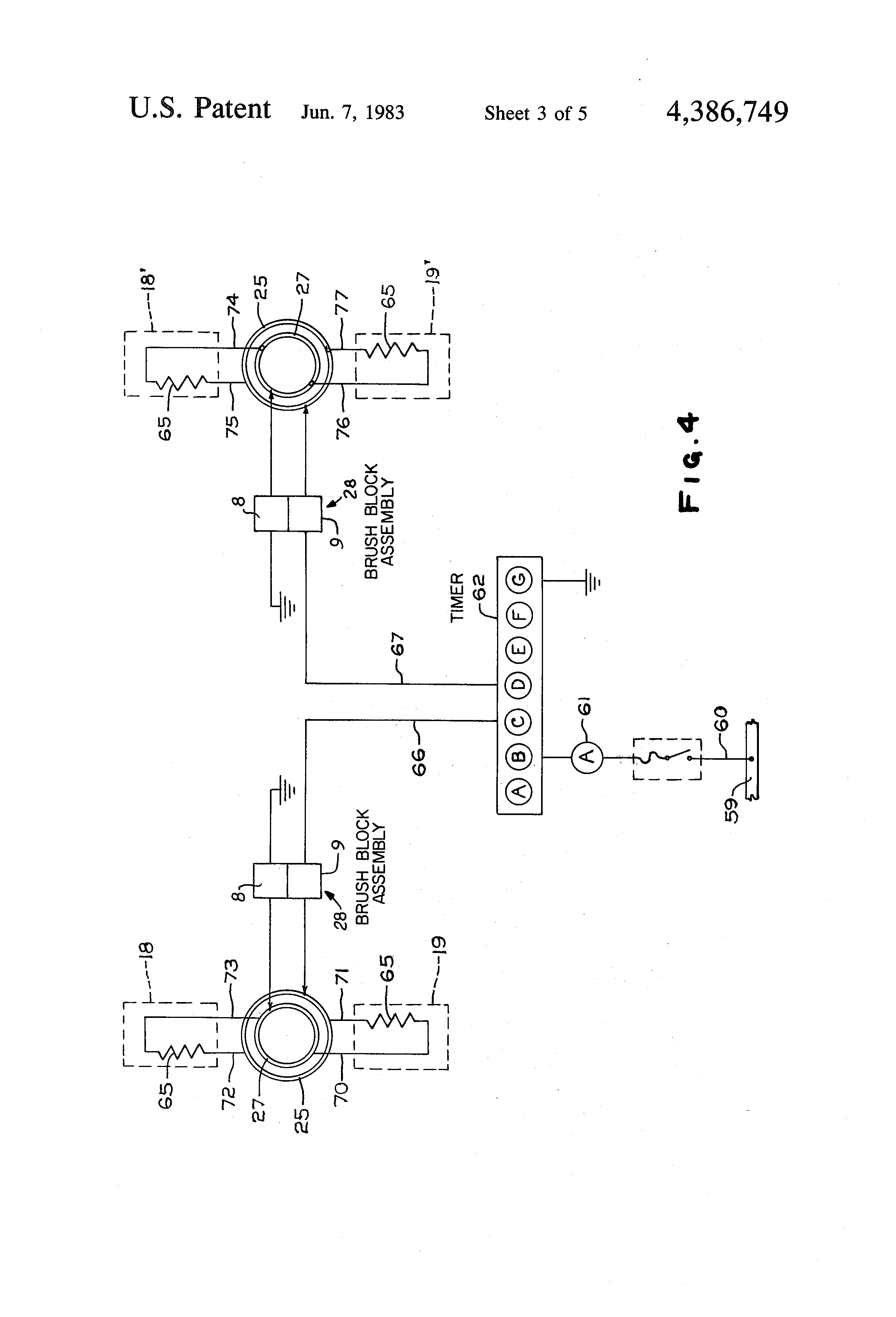 US4386749 3 patent us4386749 propeller deicer google patents u-92a/u wiring diagram at bayanpartner.co