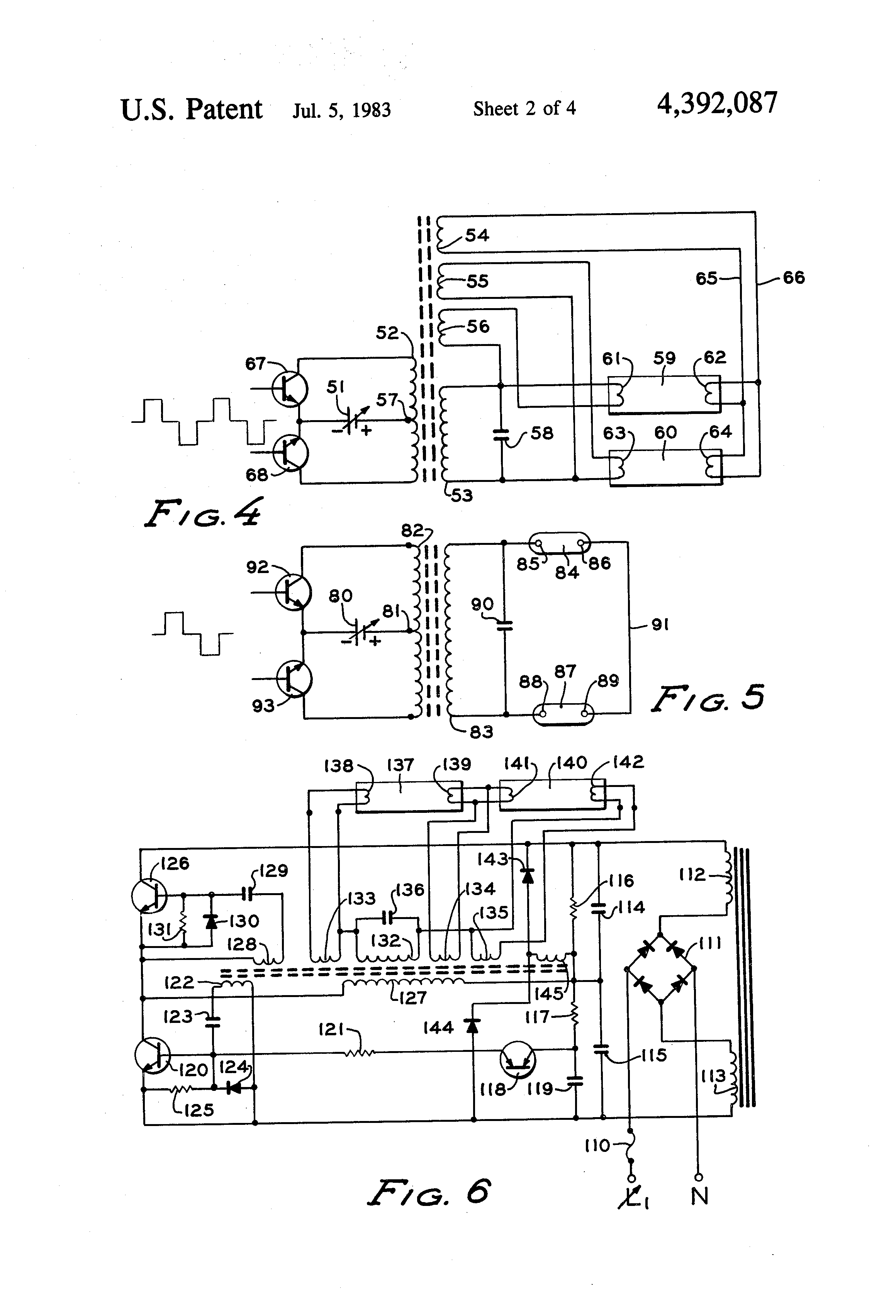 US4392087 2 patent us4392087 two wire electronic dimming ballast for gaseous dimmable ballast wiring diagram at n-0.co