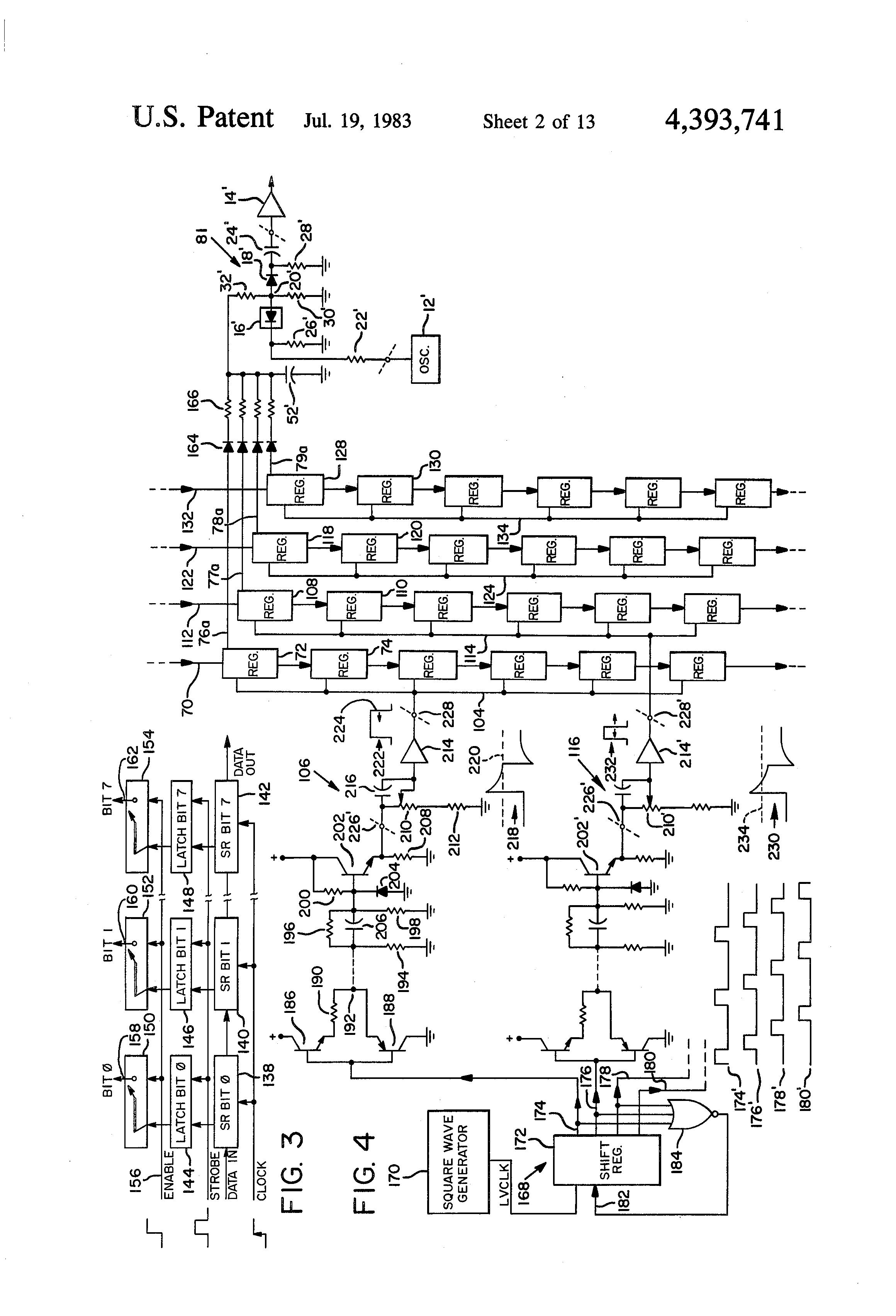 patent us4393741 - electronic organ circuit
