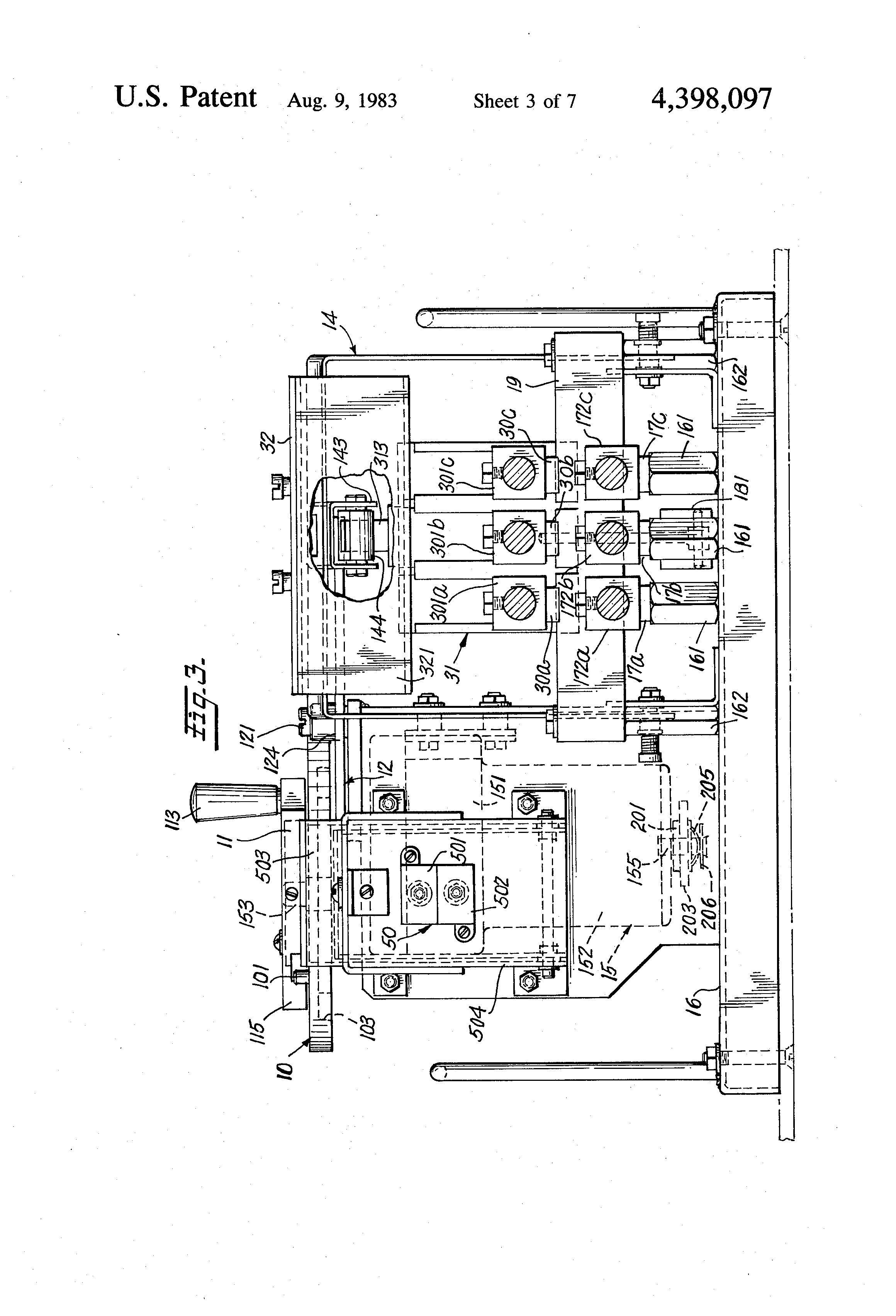 US4398097 3 patent us4398097 automatic transfer switch google patents westinghouse automatic transfer switch wiring diagram at reclaimingppi.co