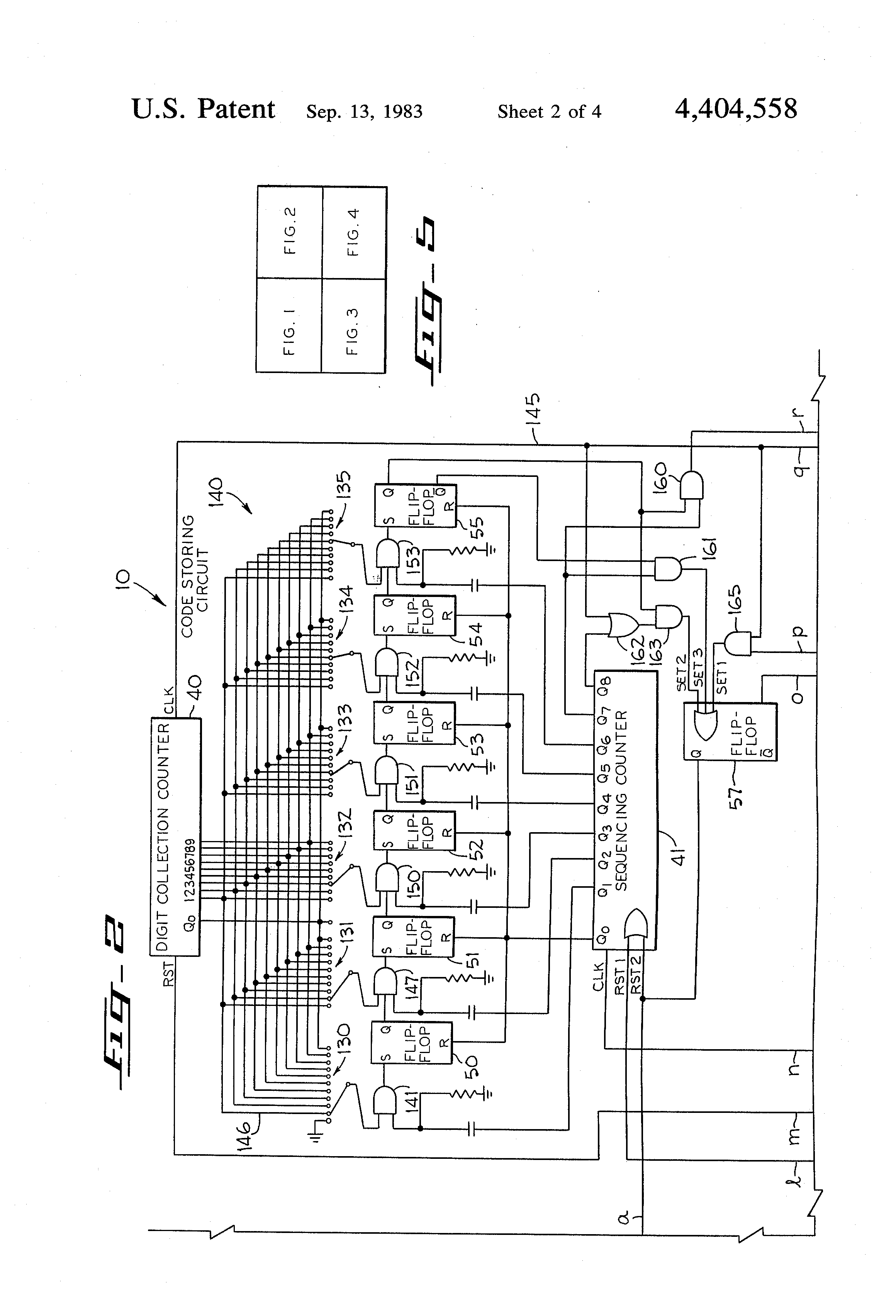 US4404558 2 patent us4404558 electrical control circuit for operating a telectron rd14-6 wiring diagram at crackthecode.co