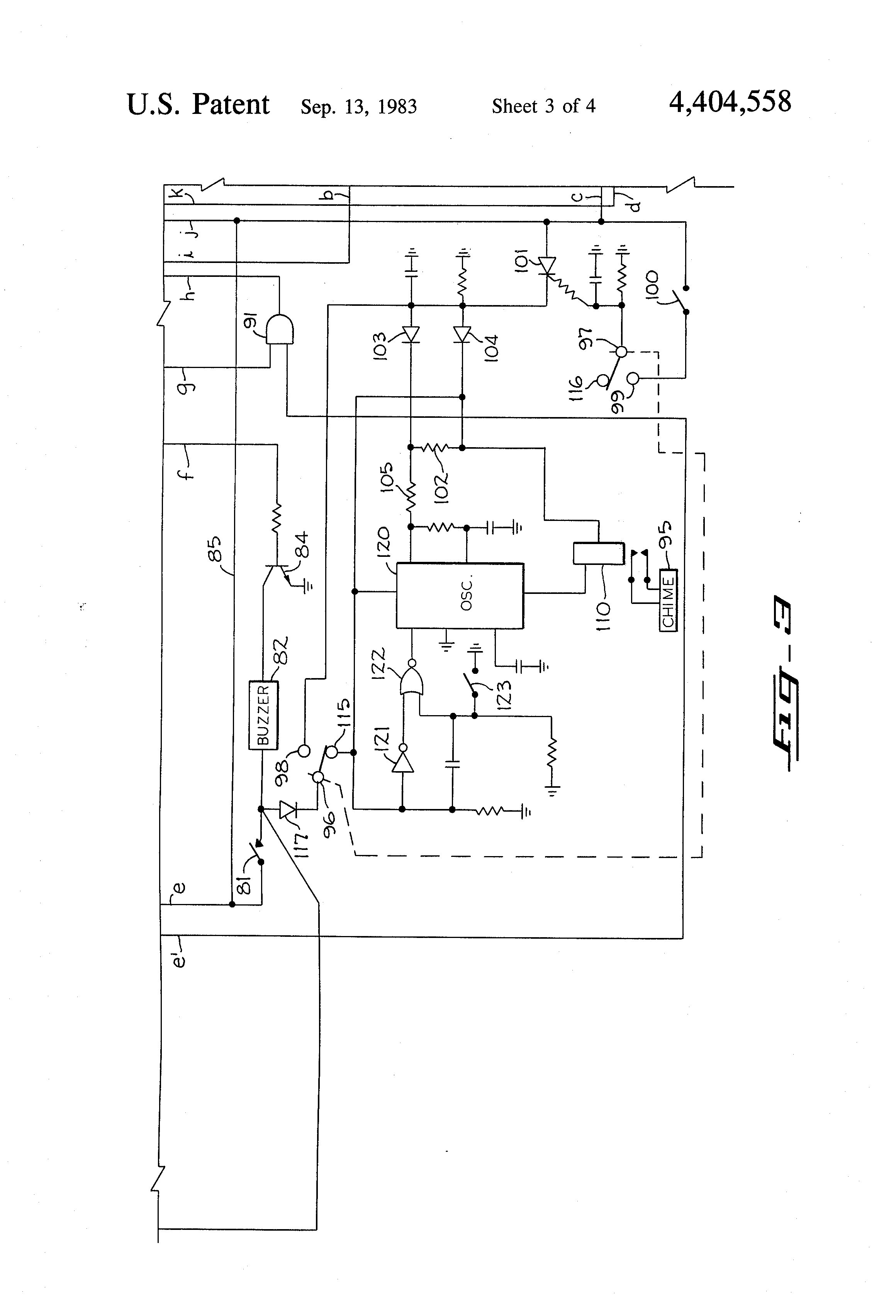 US4404558 3 patent us4404558 electrical control circuit for operating a telectron rd14-6 wiring diagram at crackthecode.co