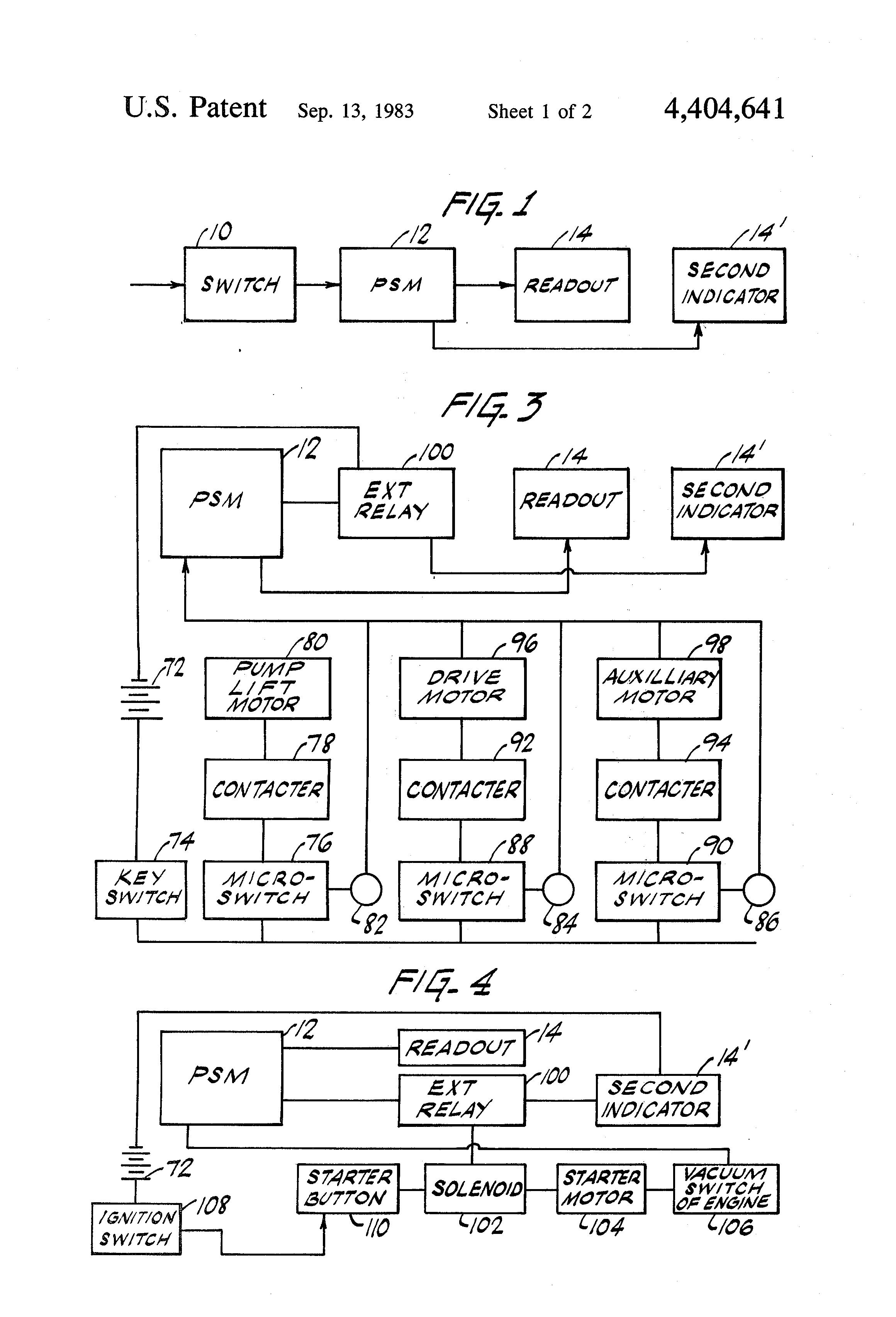 Patent US Maintenance monitor Google Patents
