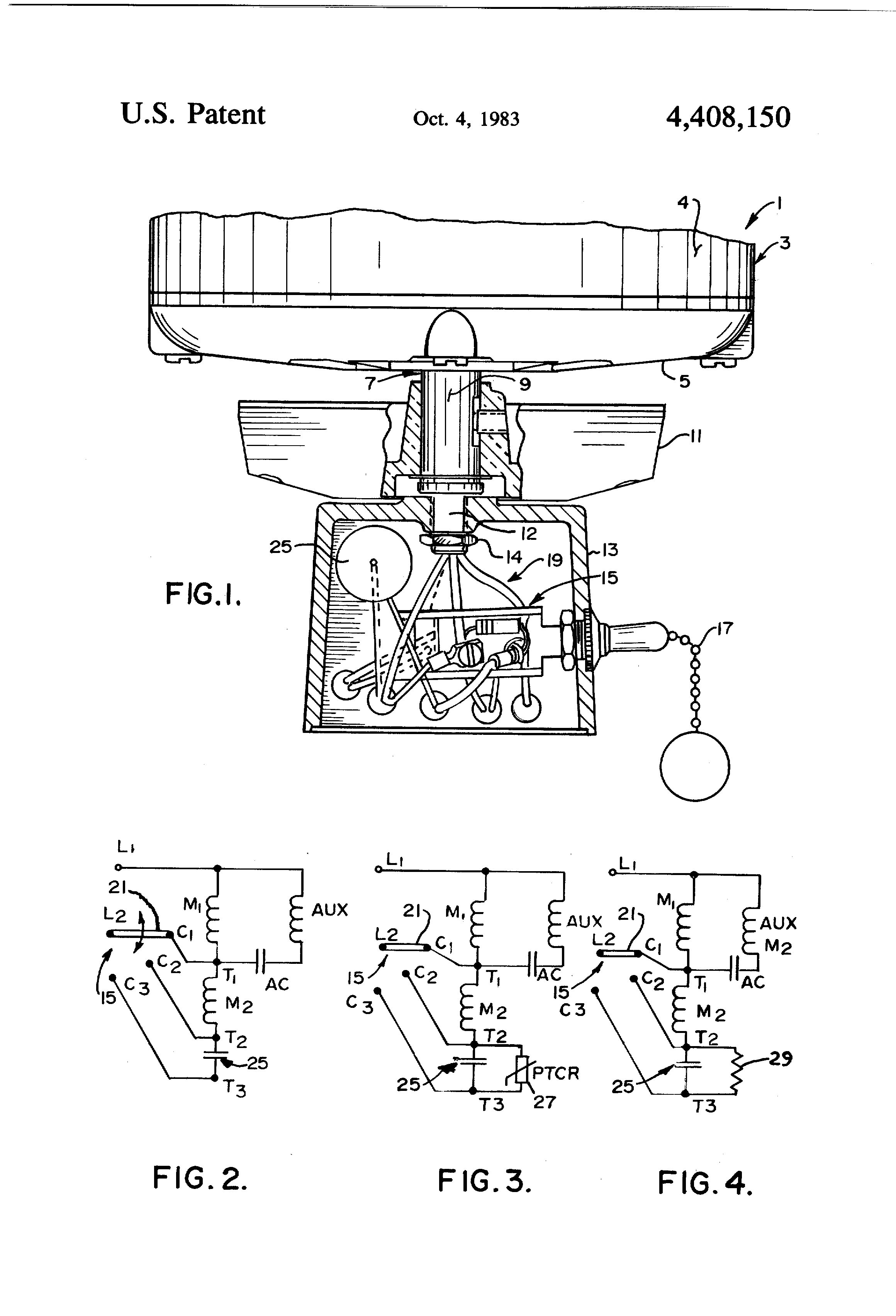 US4408150 1 patent us4408150 speed control system and method for electric robbins and myers fan motor wiring diagram at mifinder.co