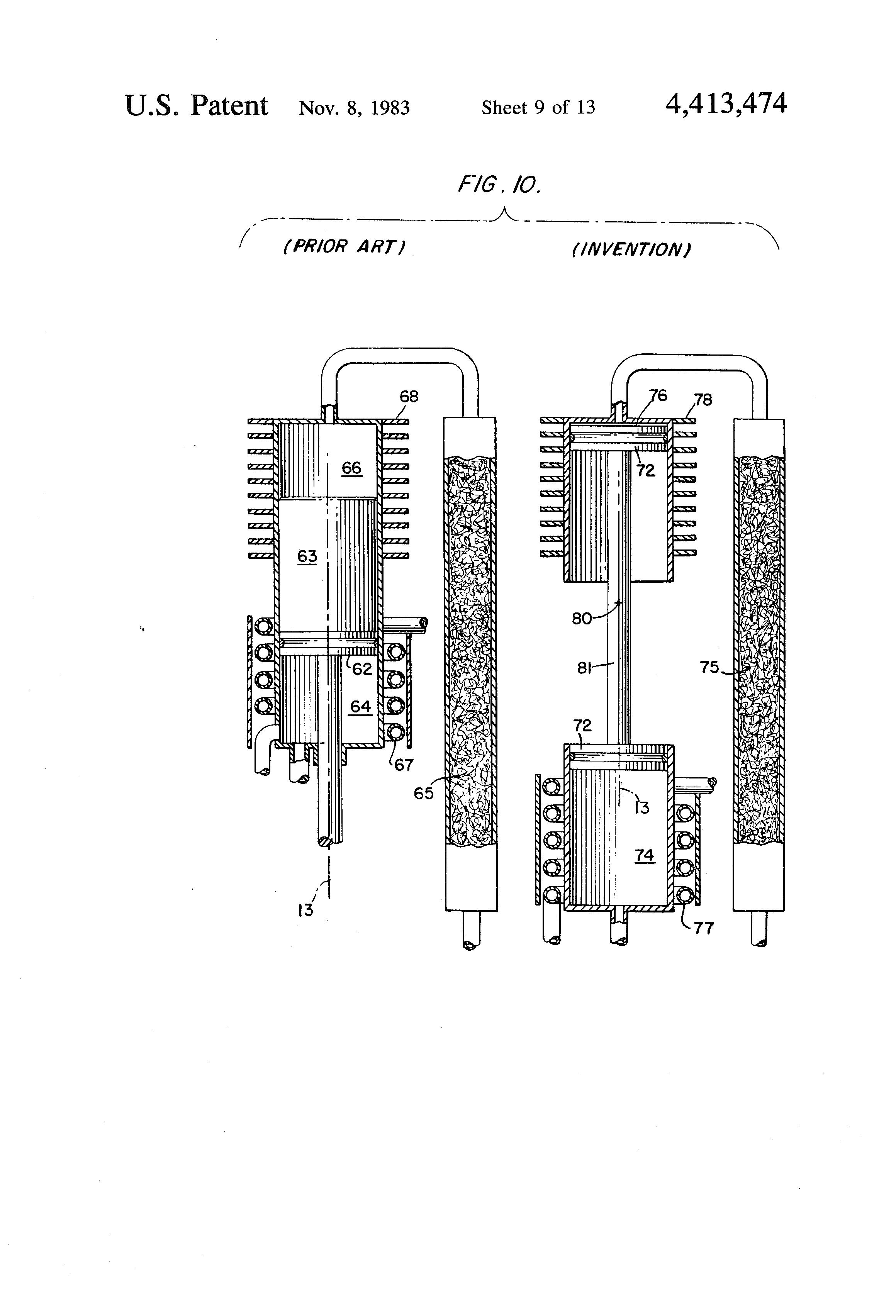 thermal expansion machine frame
