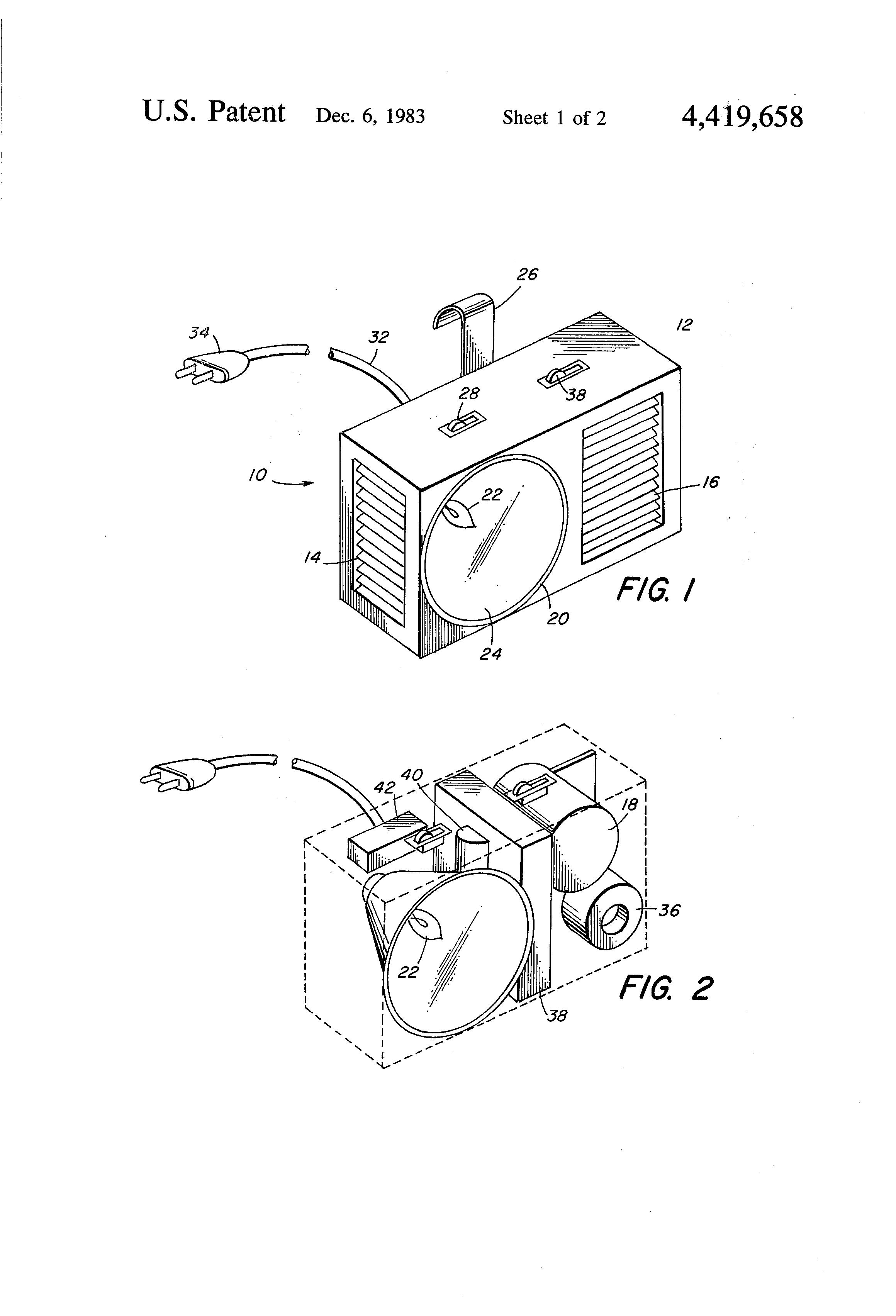 patent us4419658