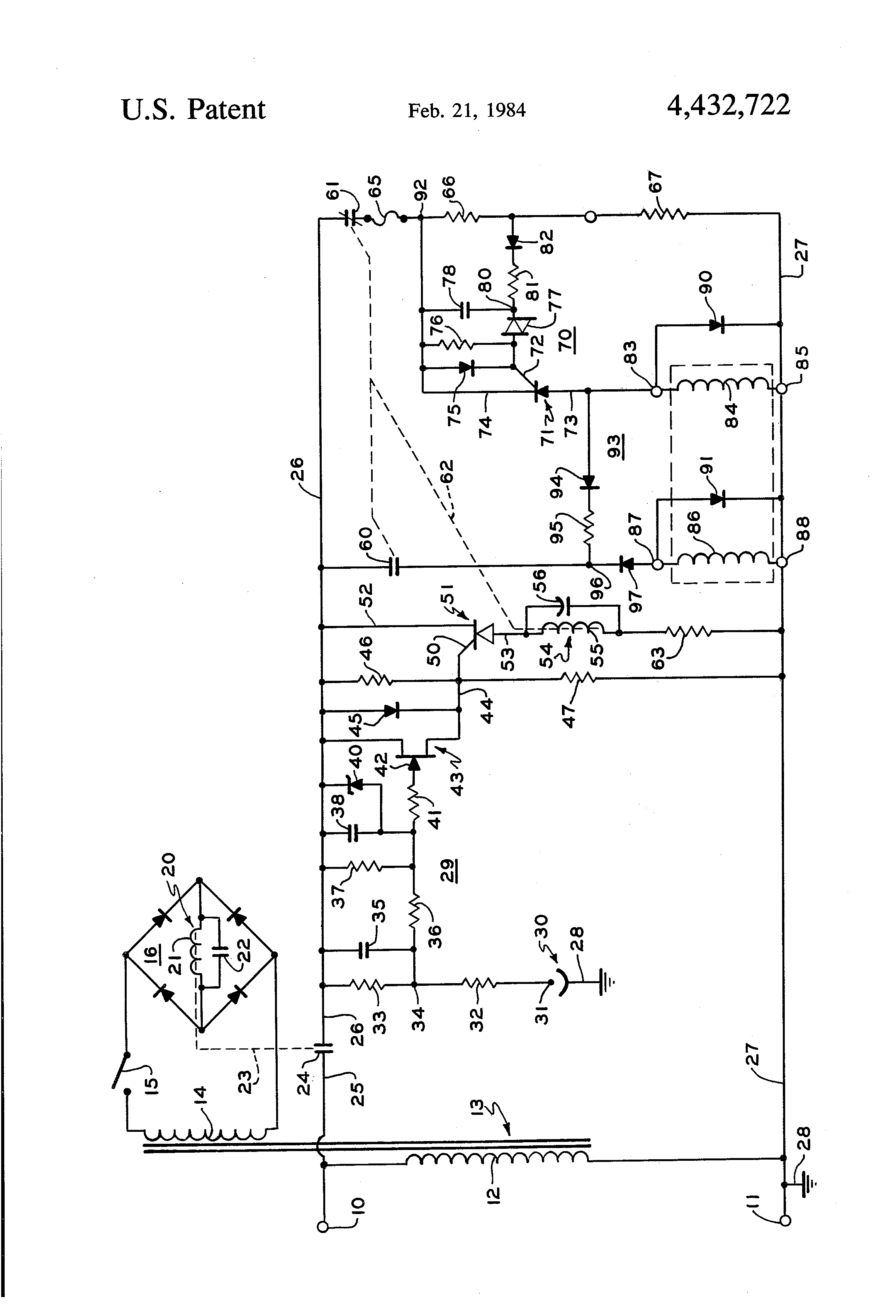 patent us4432722 - interrupted power hot wire gas ignition control system