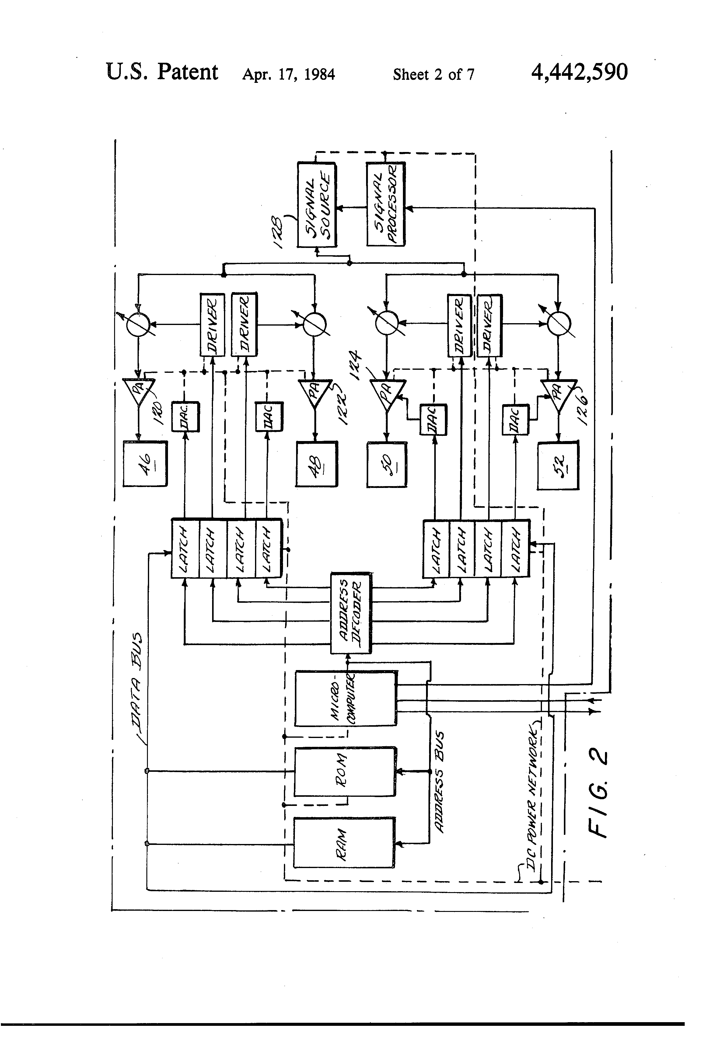 patent us4442590 - monolithic microwave integrated circuit with integral array antenna