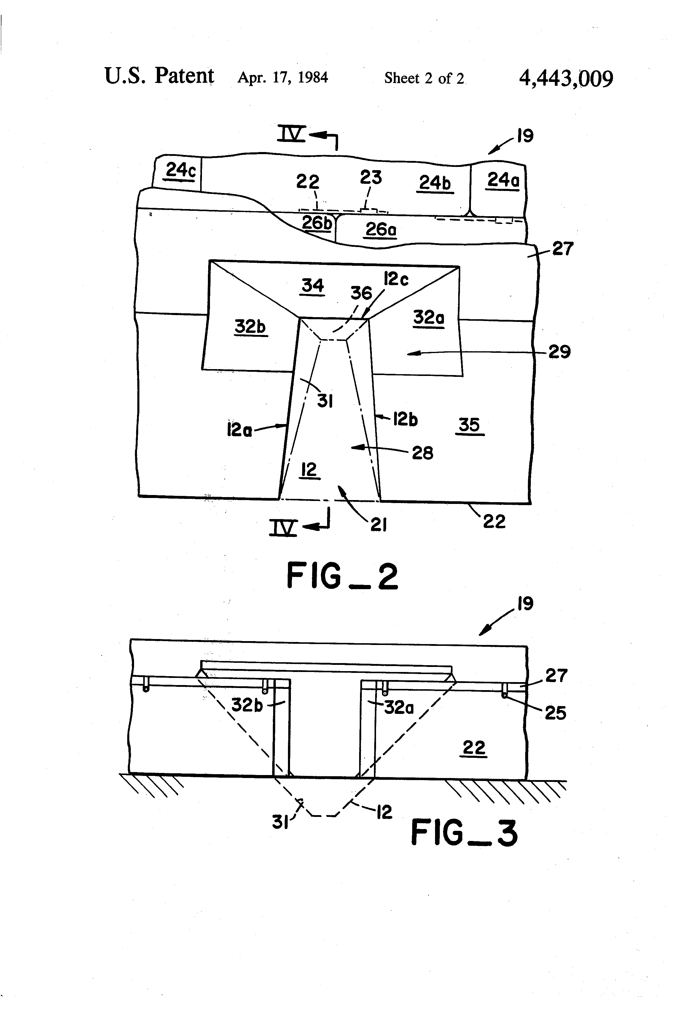 Patent US4443009 - Pole vaulter's landing cushion - Google Patents
