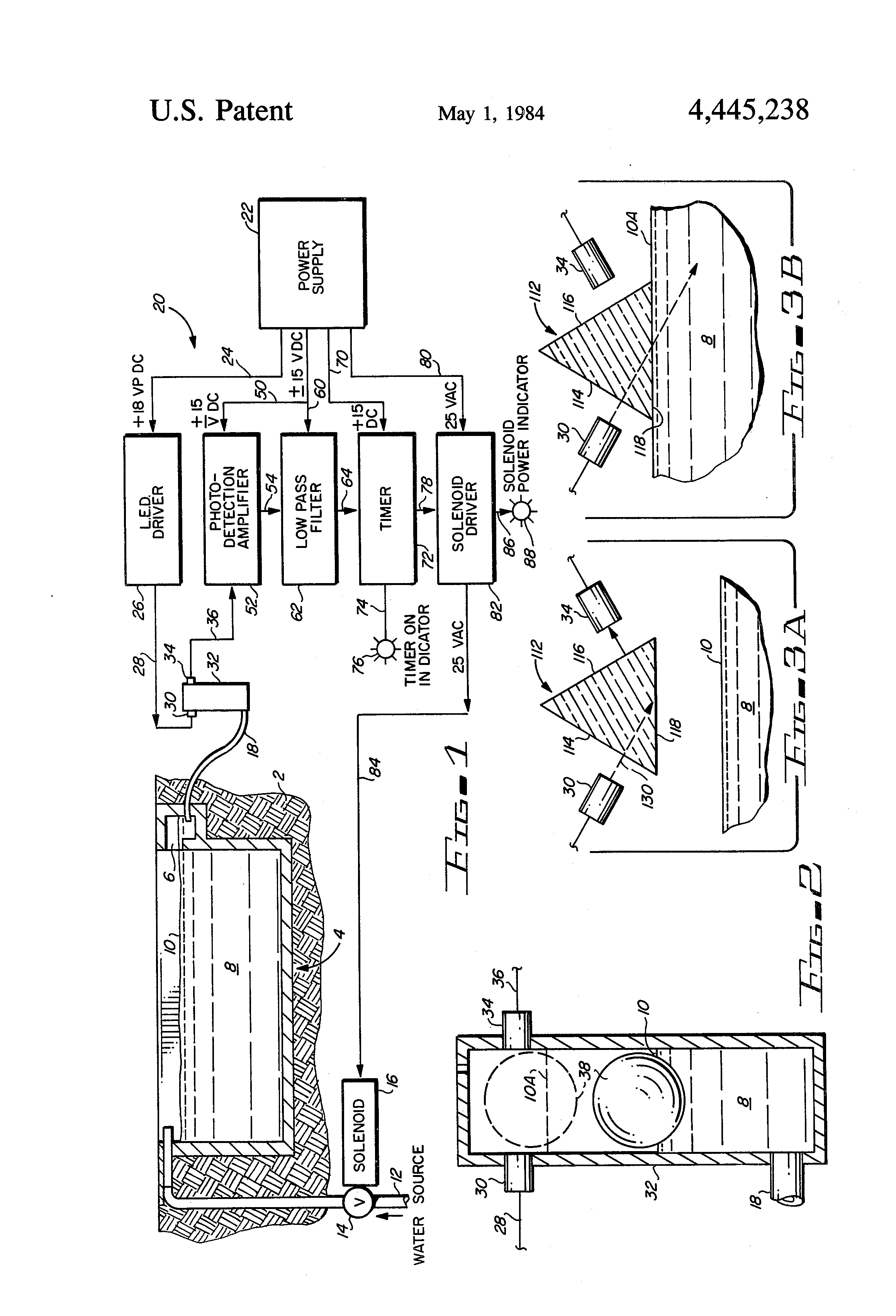 Patent Us4445238 Swimming Pool Water Level Control Apparatus Google Patents