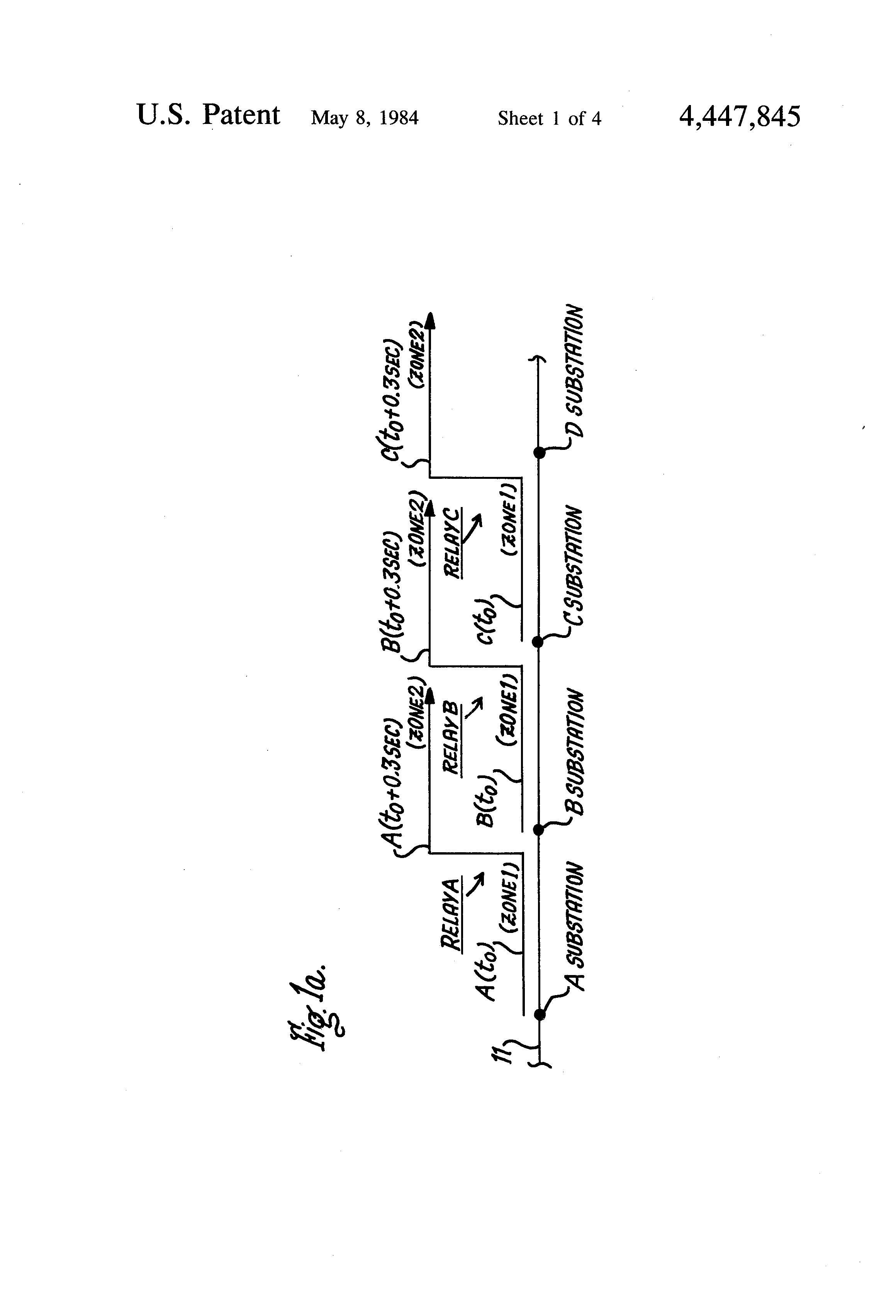 patent us4447845 - reactance relay