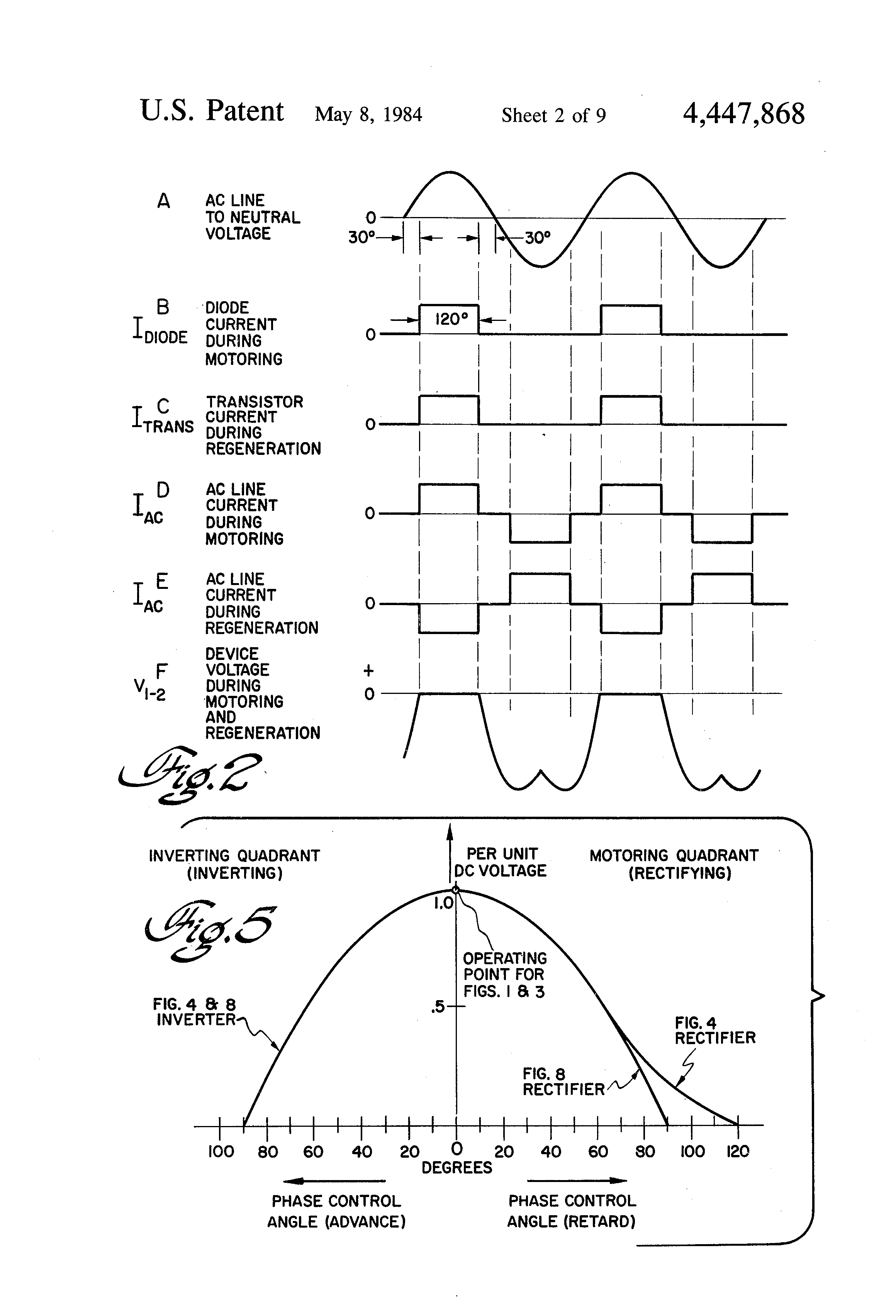 Patent Us4447868 Regenerative Rectifier Circuit Google Patents The Two Diodes Are Part Of 37 A Bridge Used In Drawing