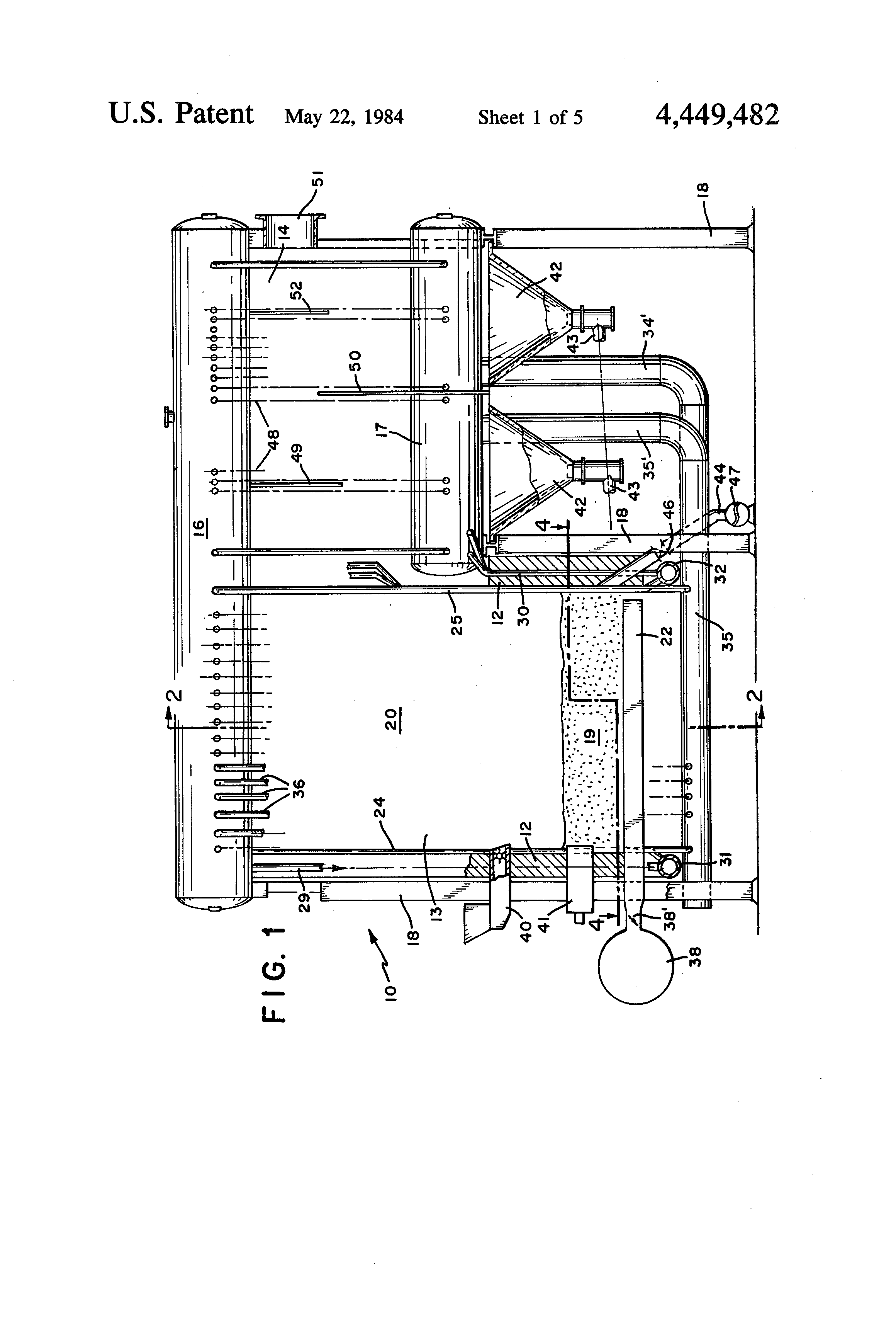 fluidized bed combustion diagram
