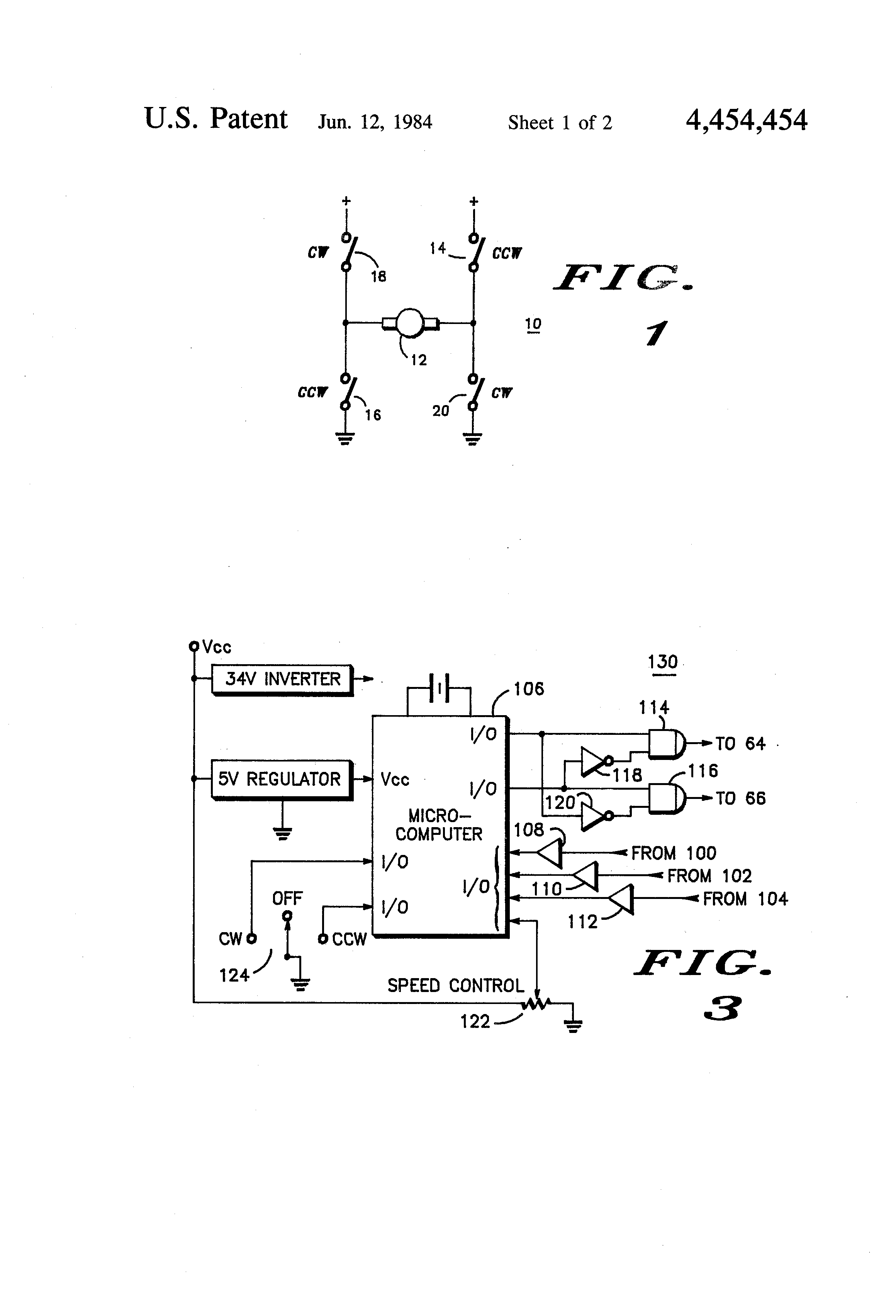 patent us4454454
