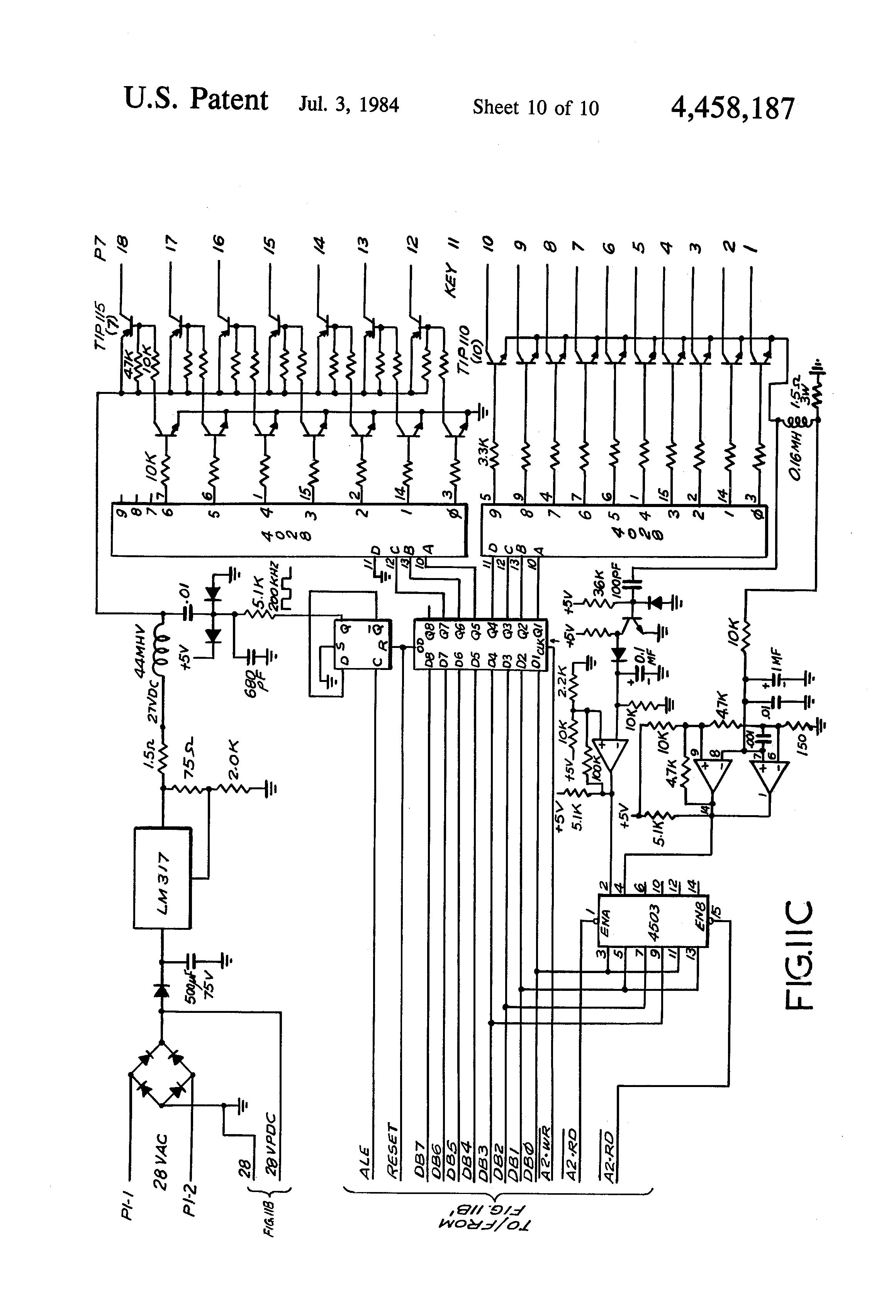 patent us4458187
