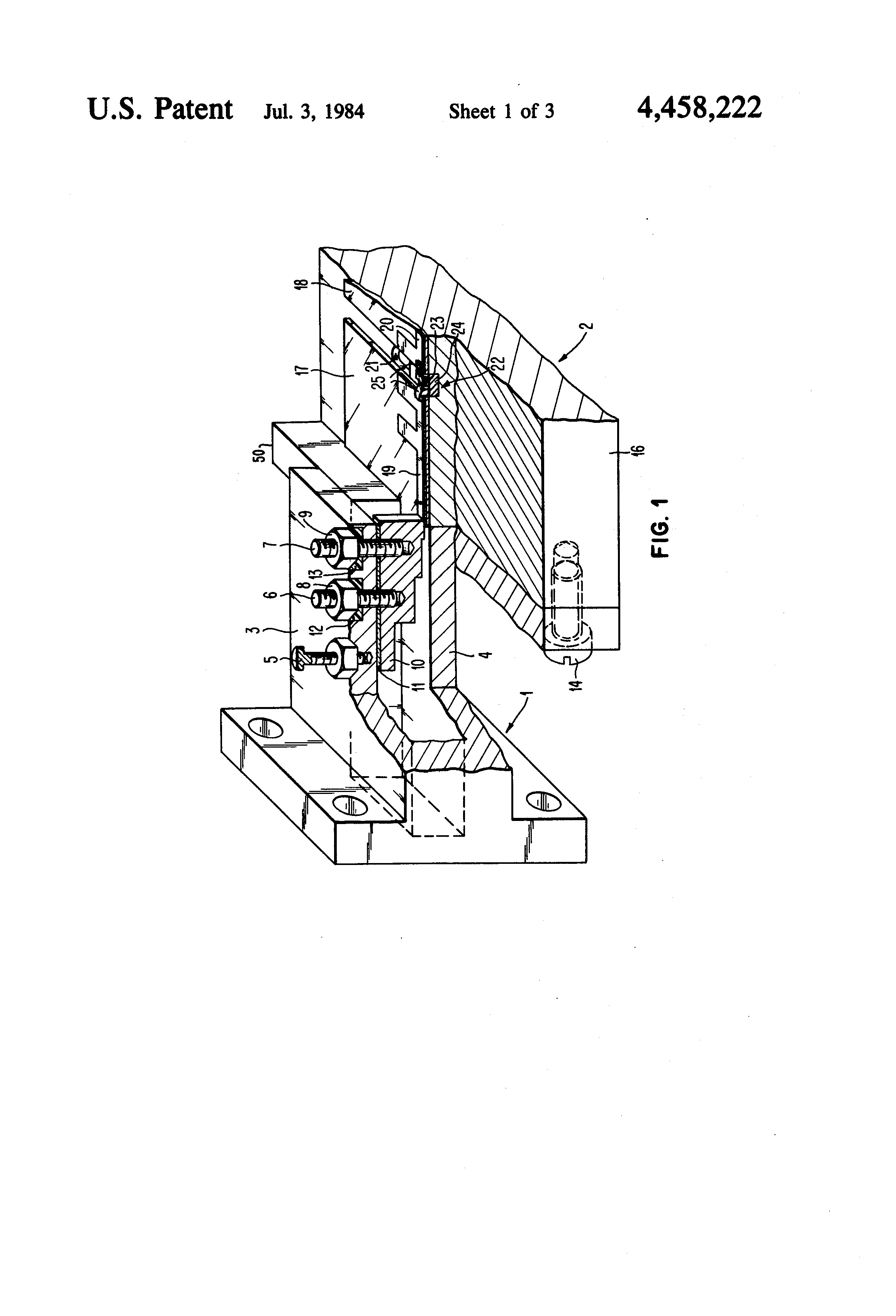 Patent Us4458222 Waveguide To Microstrip Coupler Wherein Bias Understand This Filter And Biasing Circuit Electrical Drawing